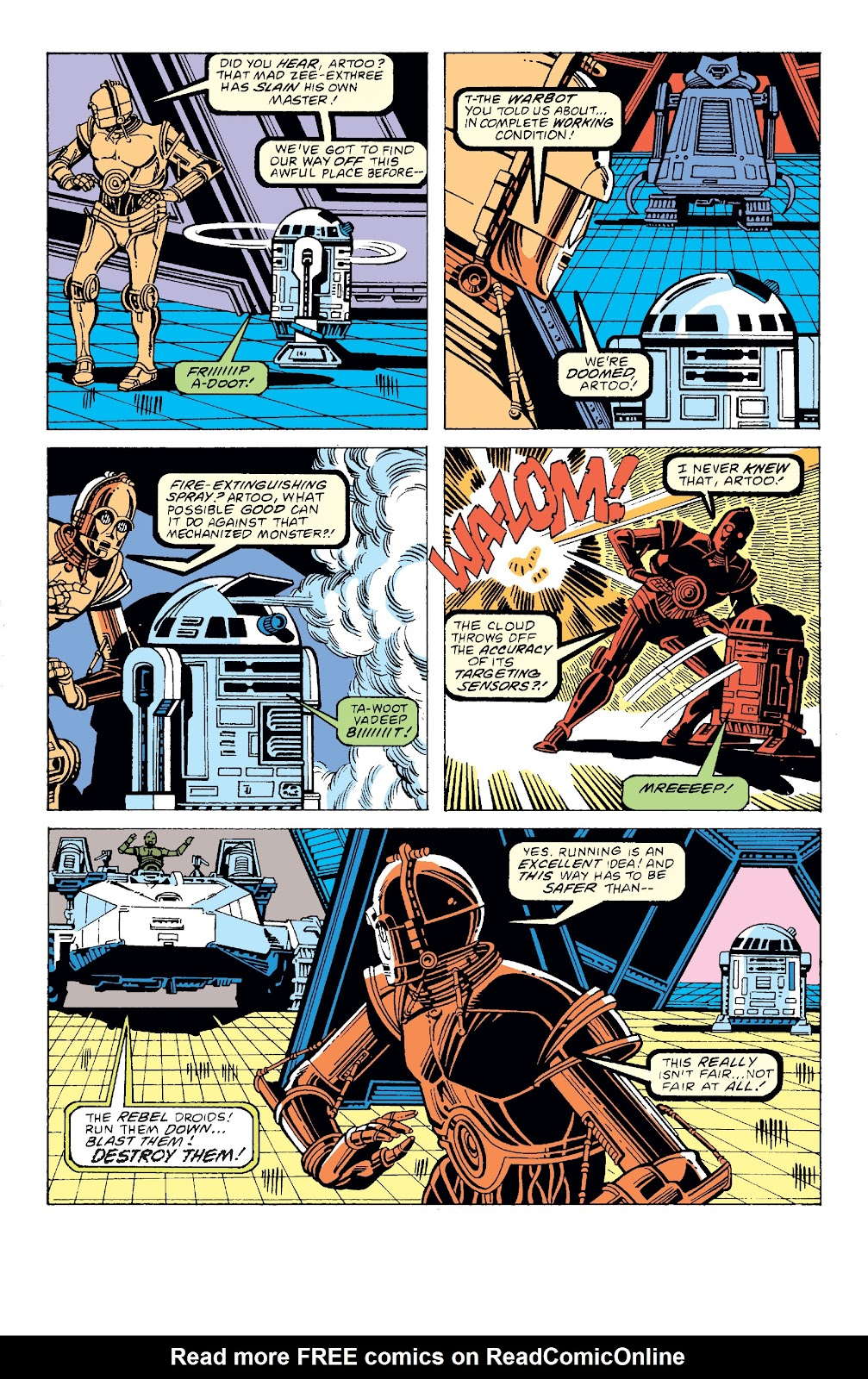 Read online Star Wars Legends: The Original Marvel Years - Epic Collection comic -  Issue # TPB 3 (Part 2) - 76