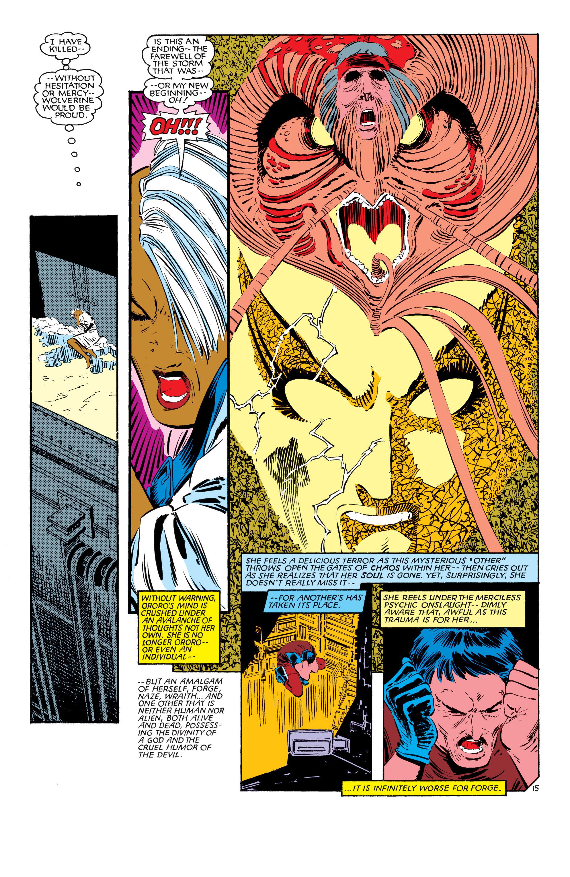 Read online Uncanny X-Men (1963) comic -  Issue #187 - 16