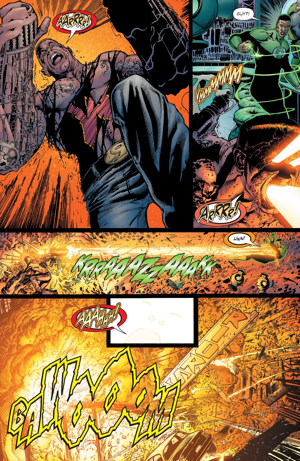Read online Green Lantern by Geoff Johns comic -  Issue # TPB 1 (Part 1) - 31