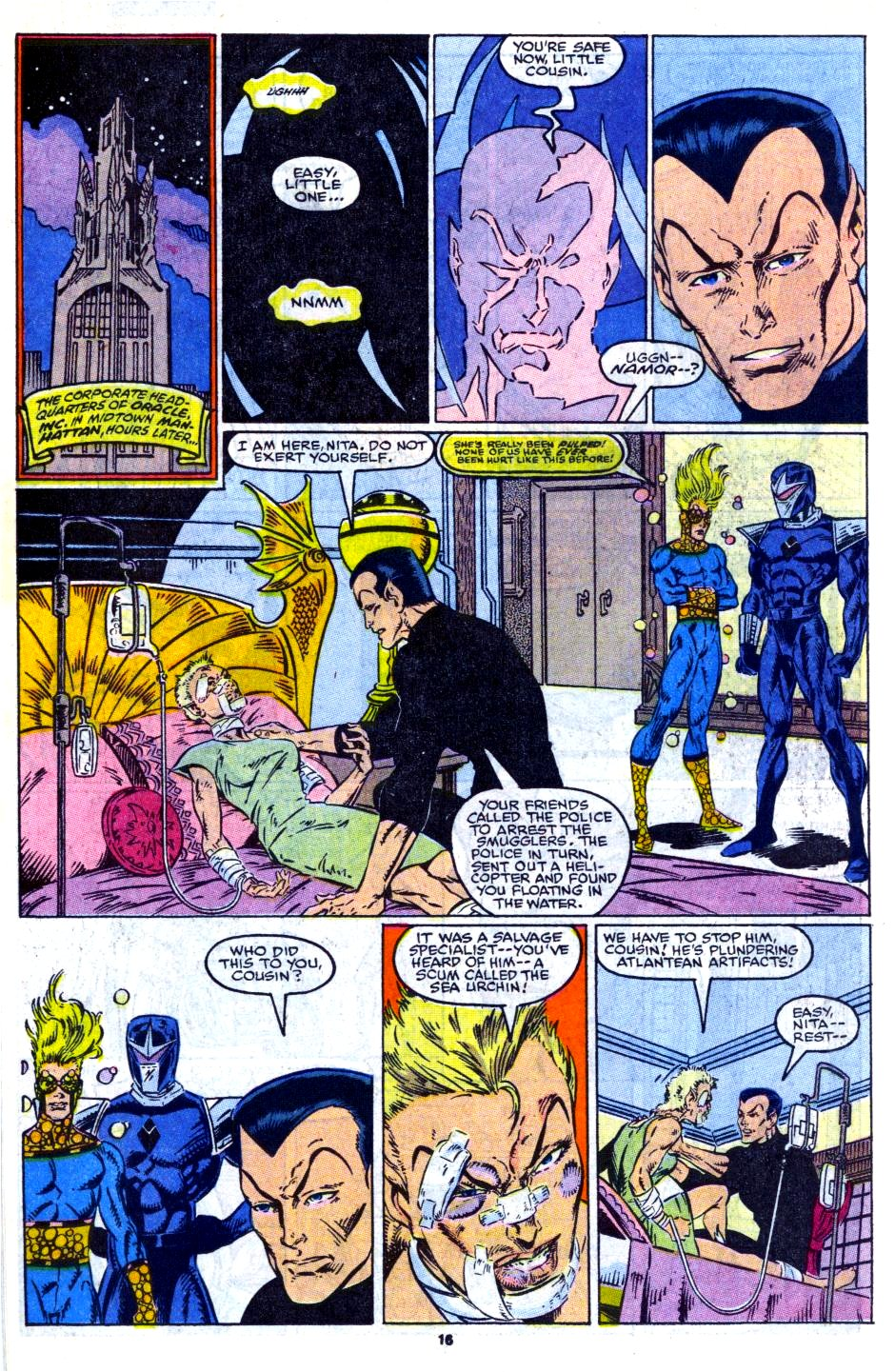 The New Warriors Issue #14 #18 - English 13