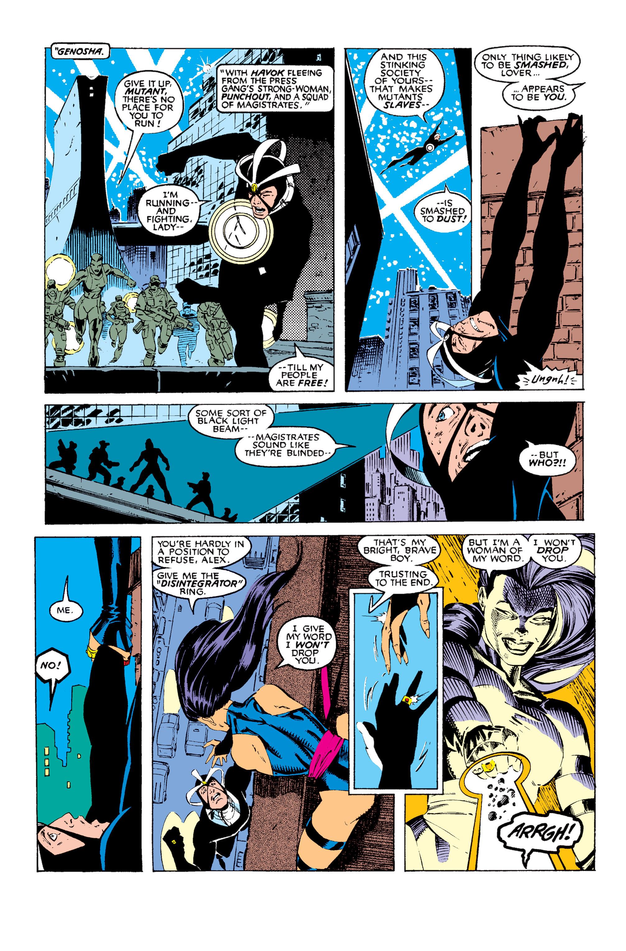 Read online Uncanny X-Men (1963) comic -  Issue #256 - 18