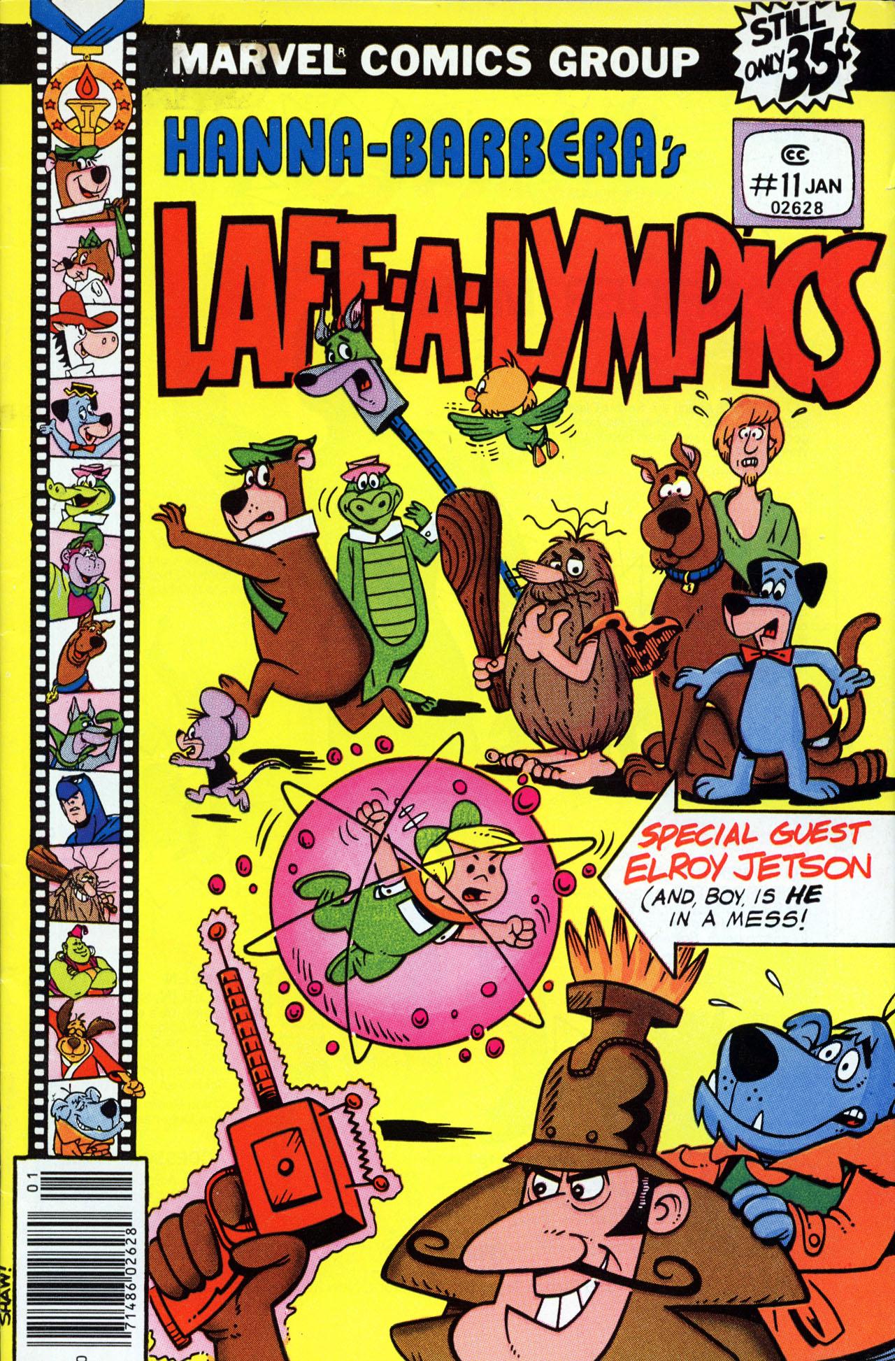 Laff-a-lympics 11 Page 1