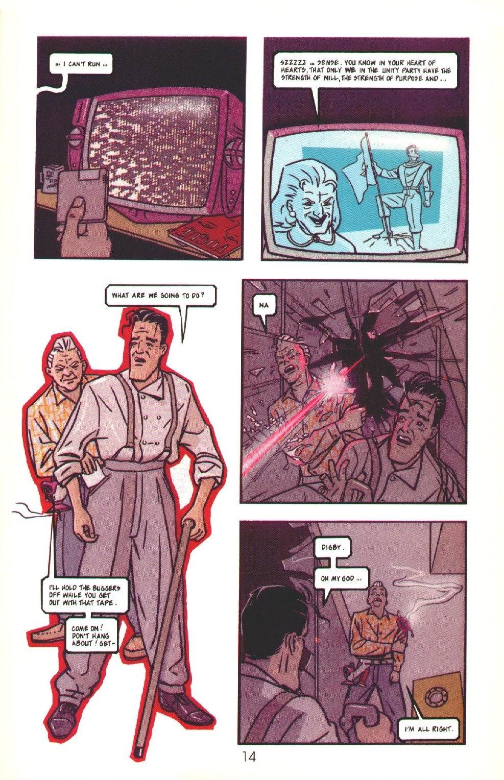 Read online Dare comic -  Issue #3 - 16
