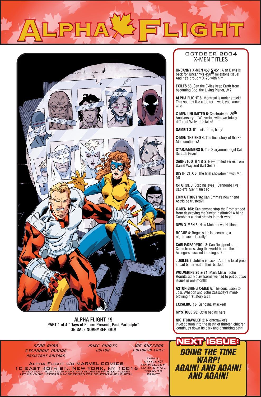 Alpha Flight (2004) issue 8 - Page 23