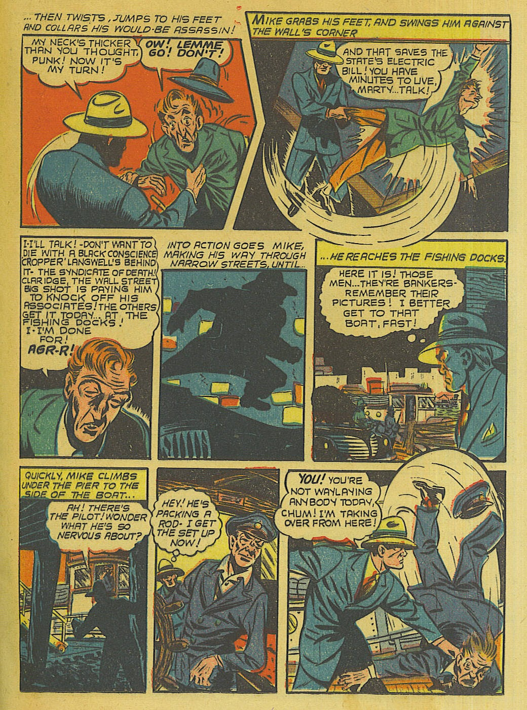 Green Hornet Comics issue 10 - Page 12