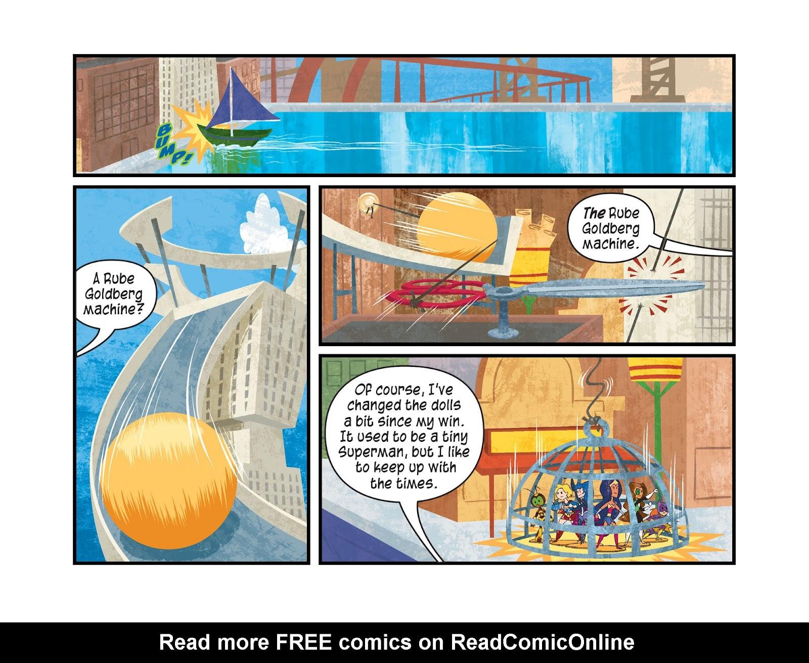 Read online DC Super Hero Girls: Weird Science comic -  Issue #14 - 7