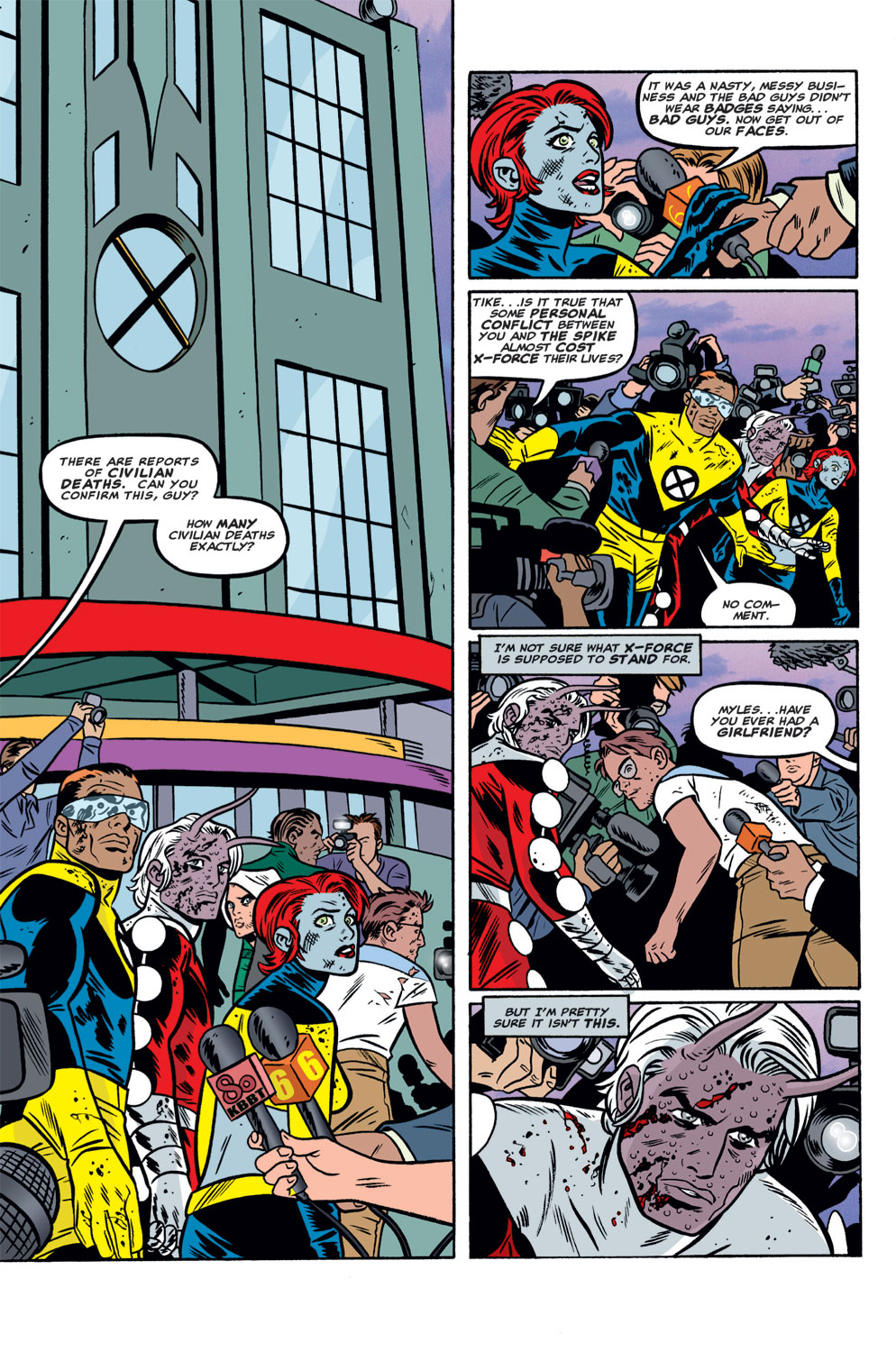 Read online X-Force (1991) comic -  Issue #125 - 2