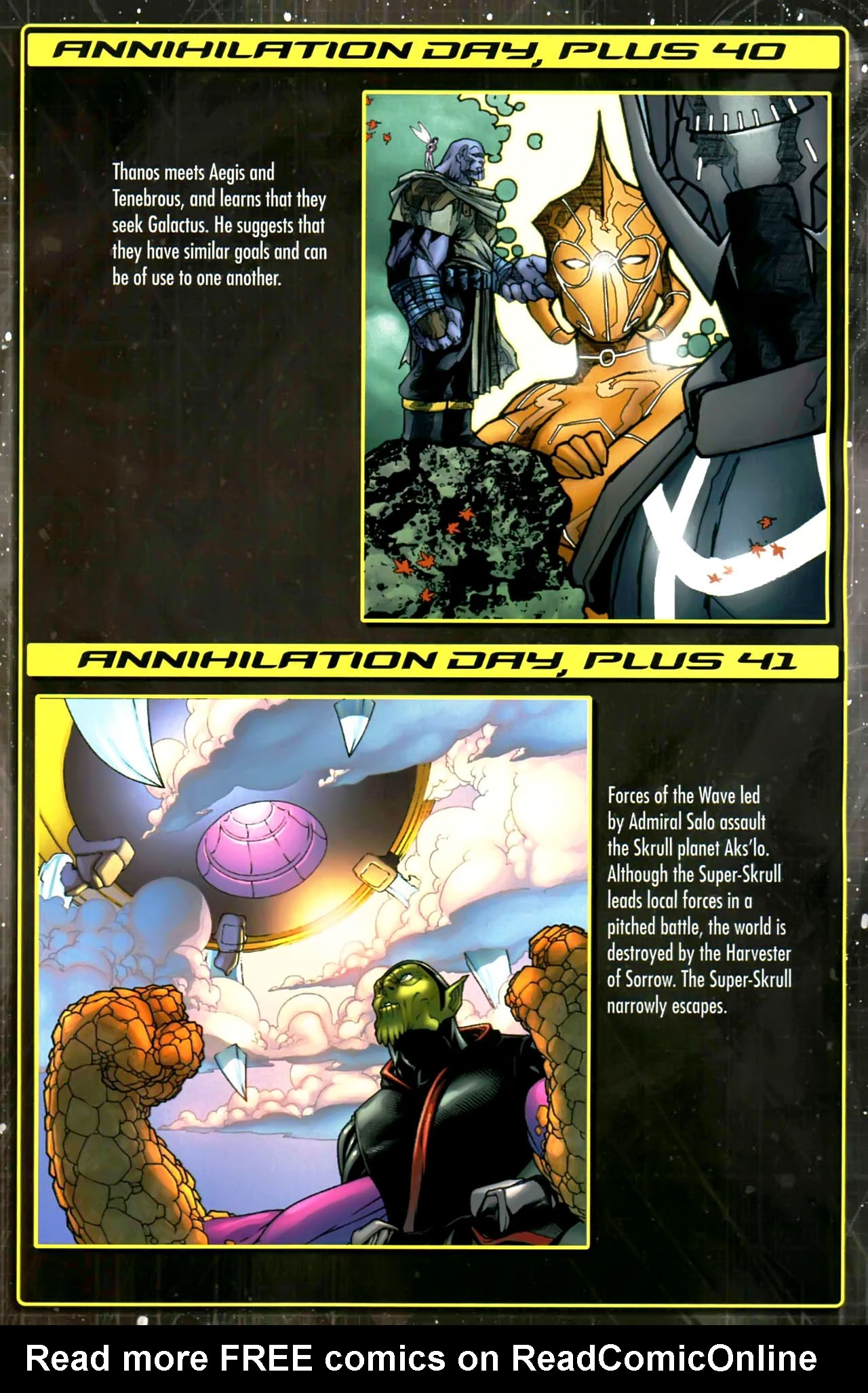 Read online Annihilation: Saga comic -  Issue #Annihilation: Saga Full - 13