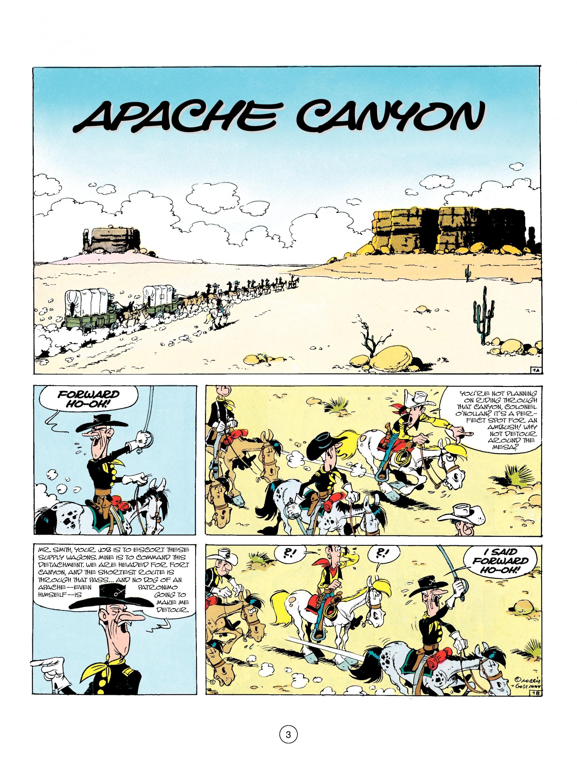 Read online A Lucky Luke Adventure comic -  Issue #17 - 3