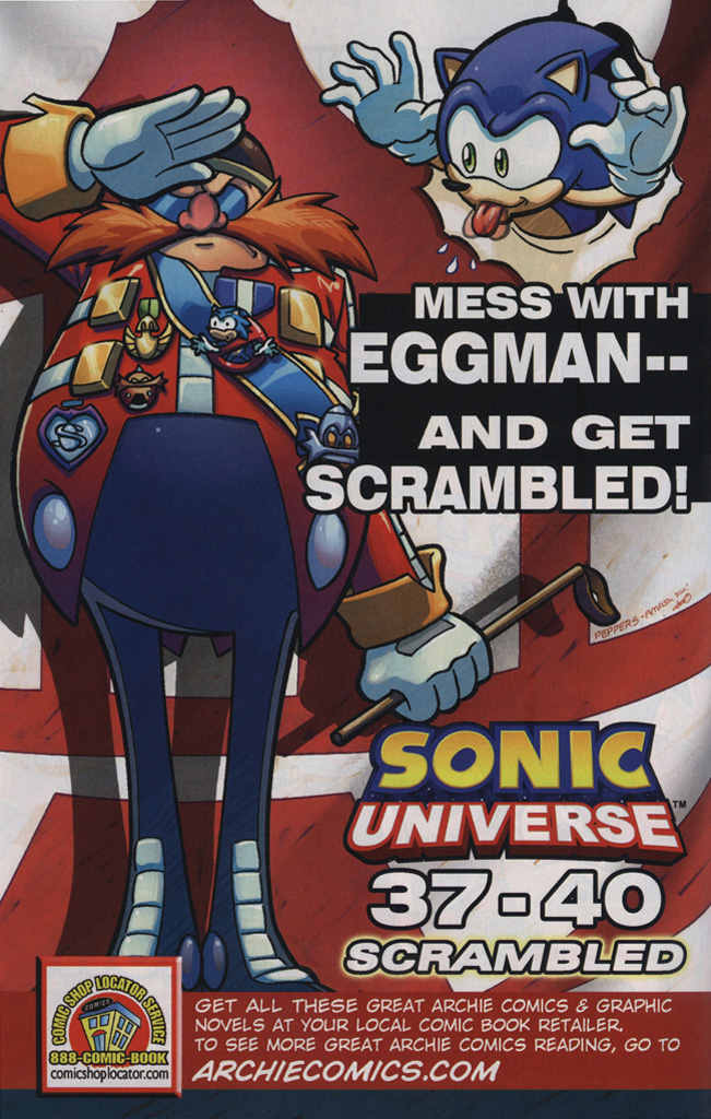 Read online Sonic the Hedgehog Free Comic Book Day Edition comic -  Issue # Special 6 - 12