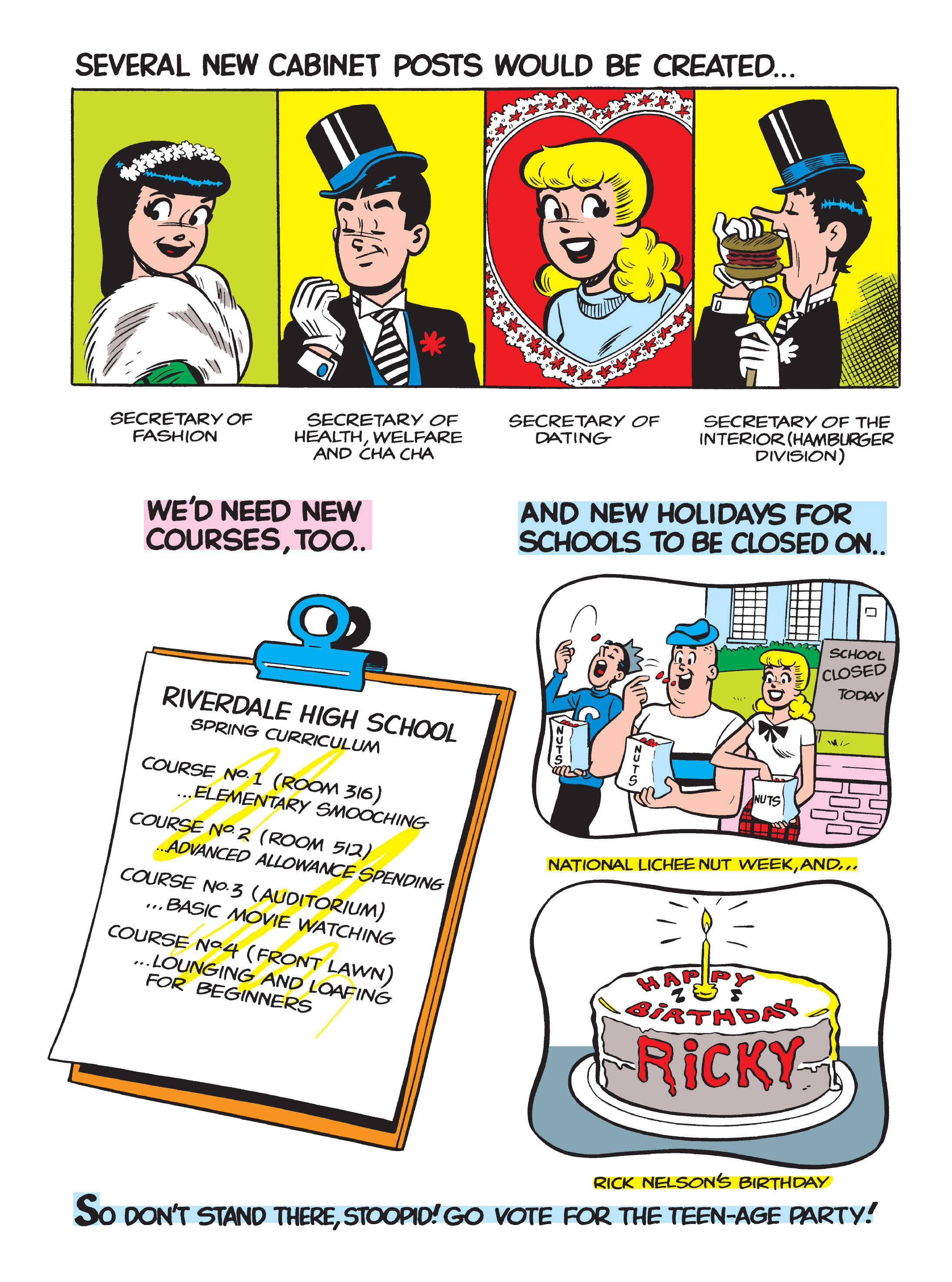 Read online Archie 75th Anniversary Digest comic -  Issue #3 - 83