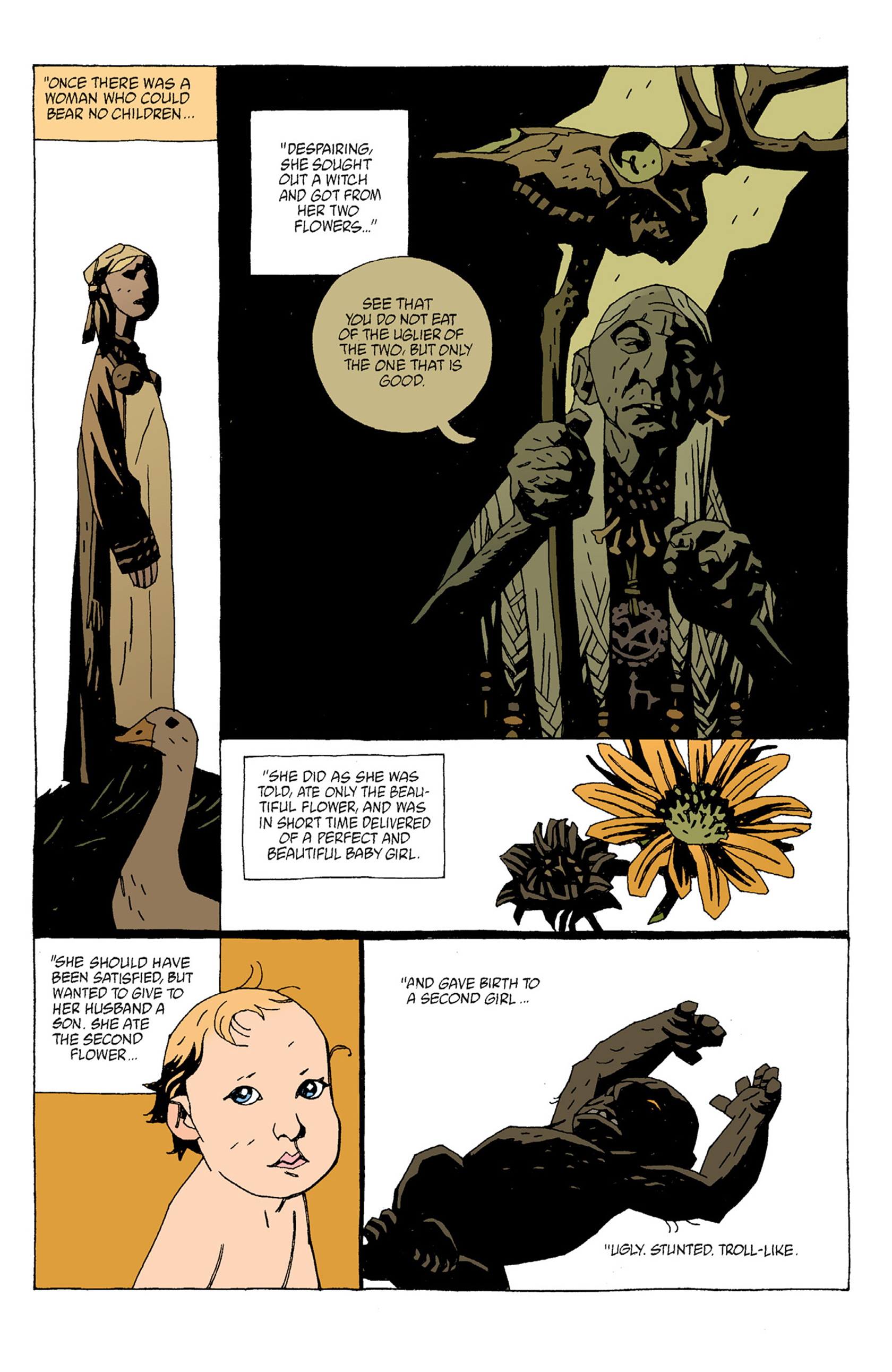 Read online Hellboy: The Troll Witch and Others comic -  Issue # TPB - 29