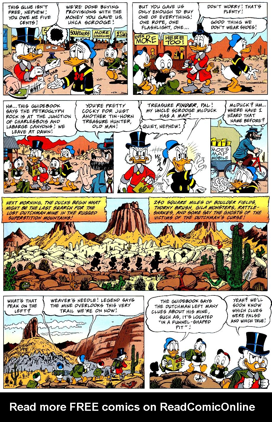 Read online Uncle Scrooge (1953) comic -  Issue #319 - 7