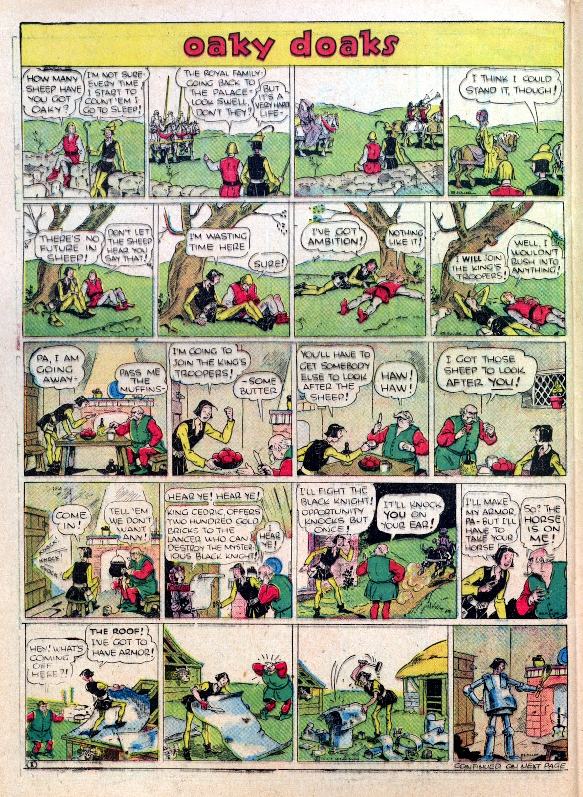 Read online Famous Funnies comic -  Issue #25 - 44