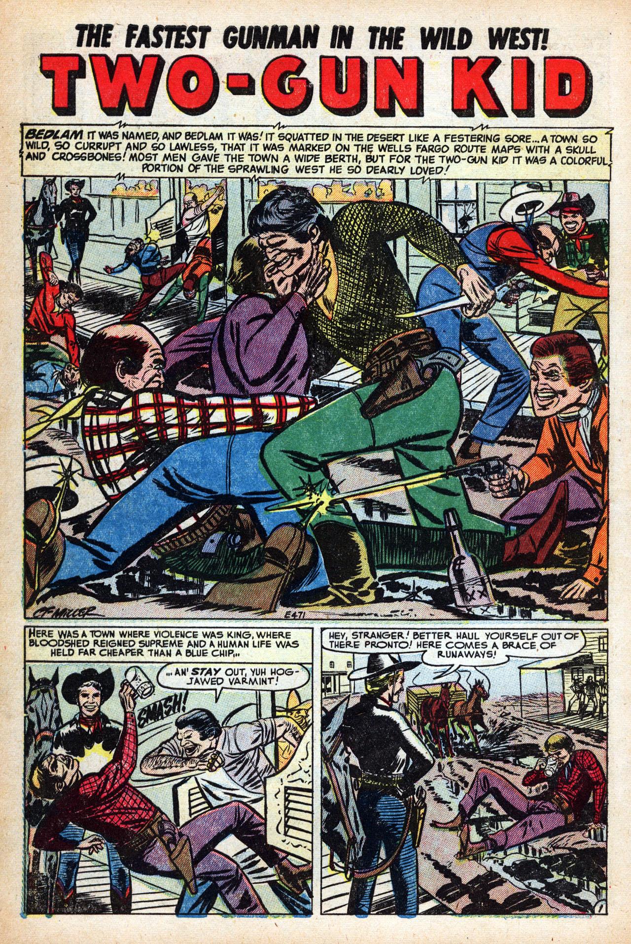 Read online Two-Gun Kid comic -  Issue #15 - 10