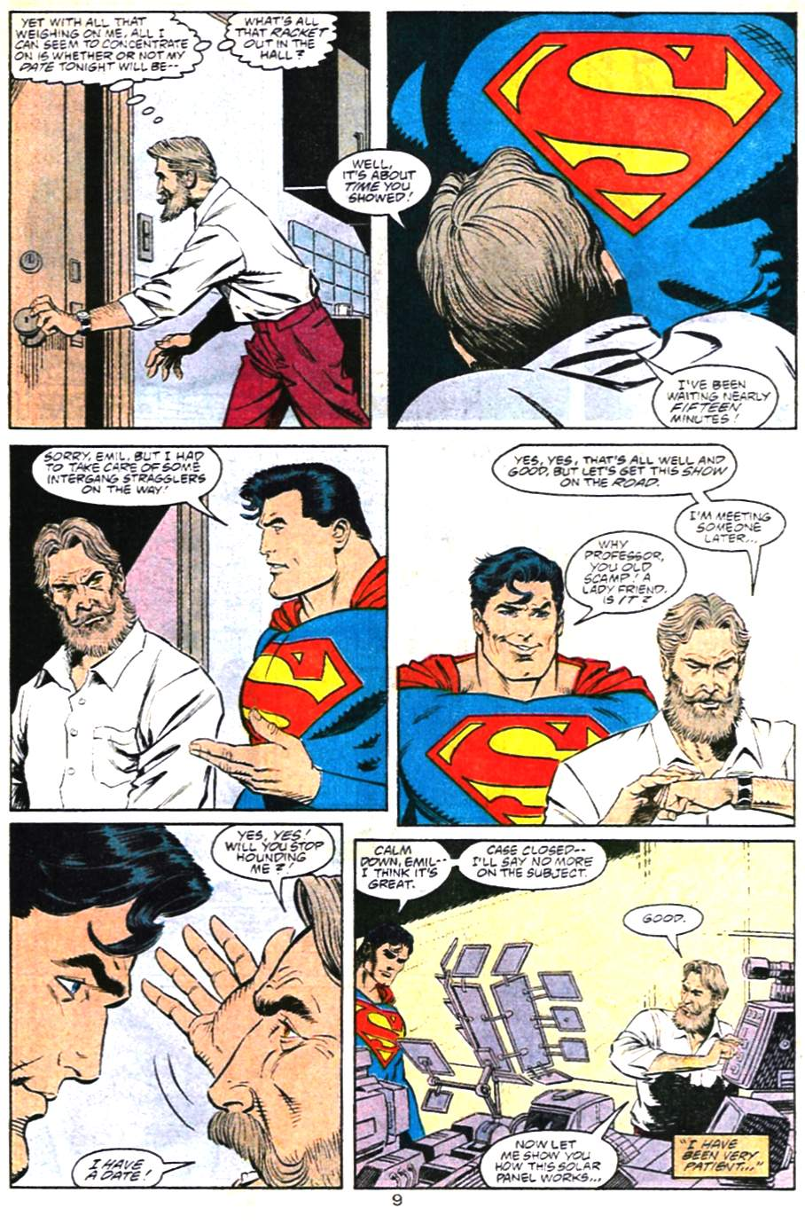 Adventures of Superman (1987) 483 Page 9