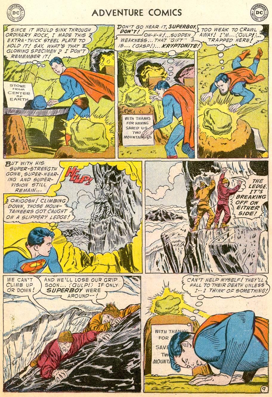 Read online Adventure Comics (1938) comic -  Issue #215 - 11