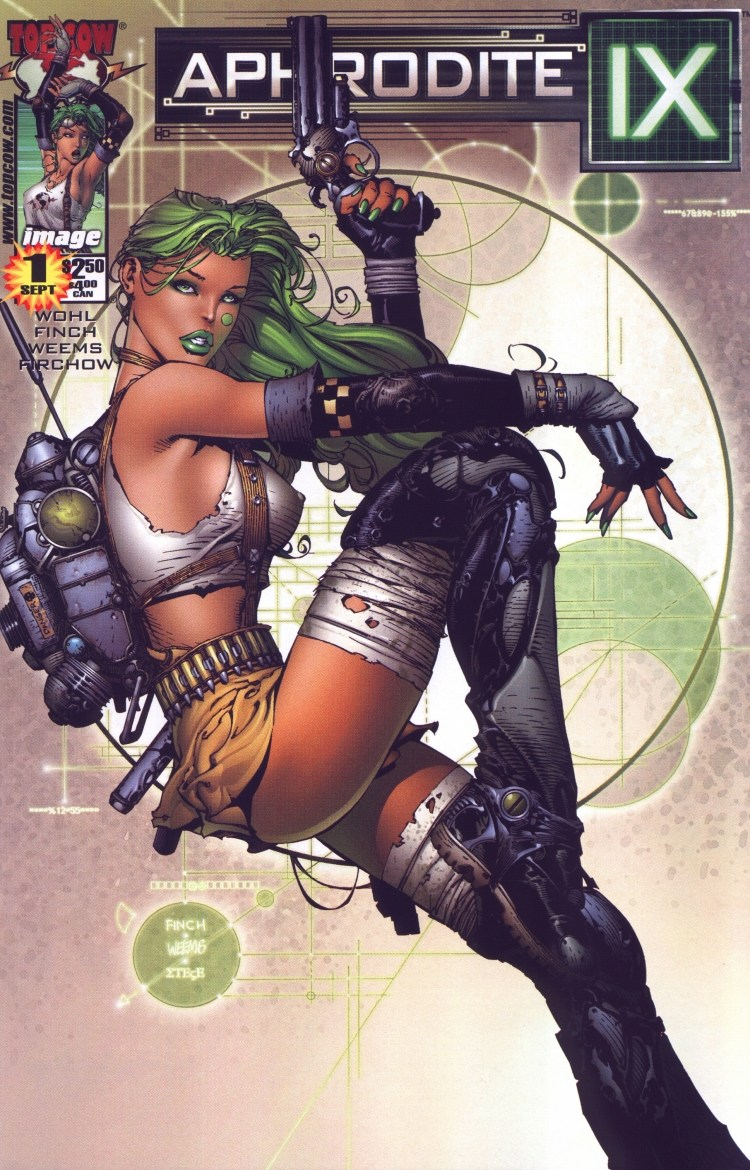 Read online Aphrodite IX (2000) comic -  Issue #1 - 3