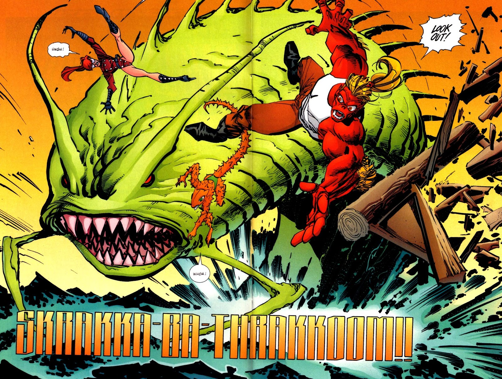 The Savage Dragon (1993) Issue #93 #96 - English 4