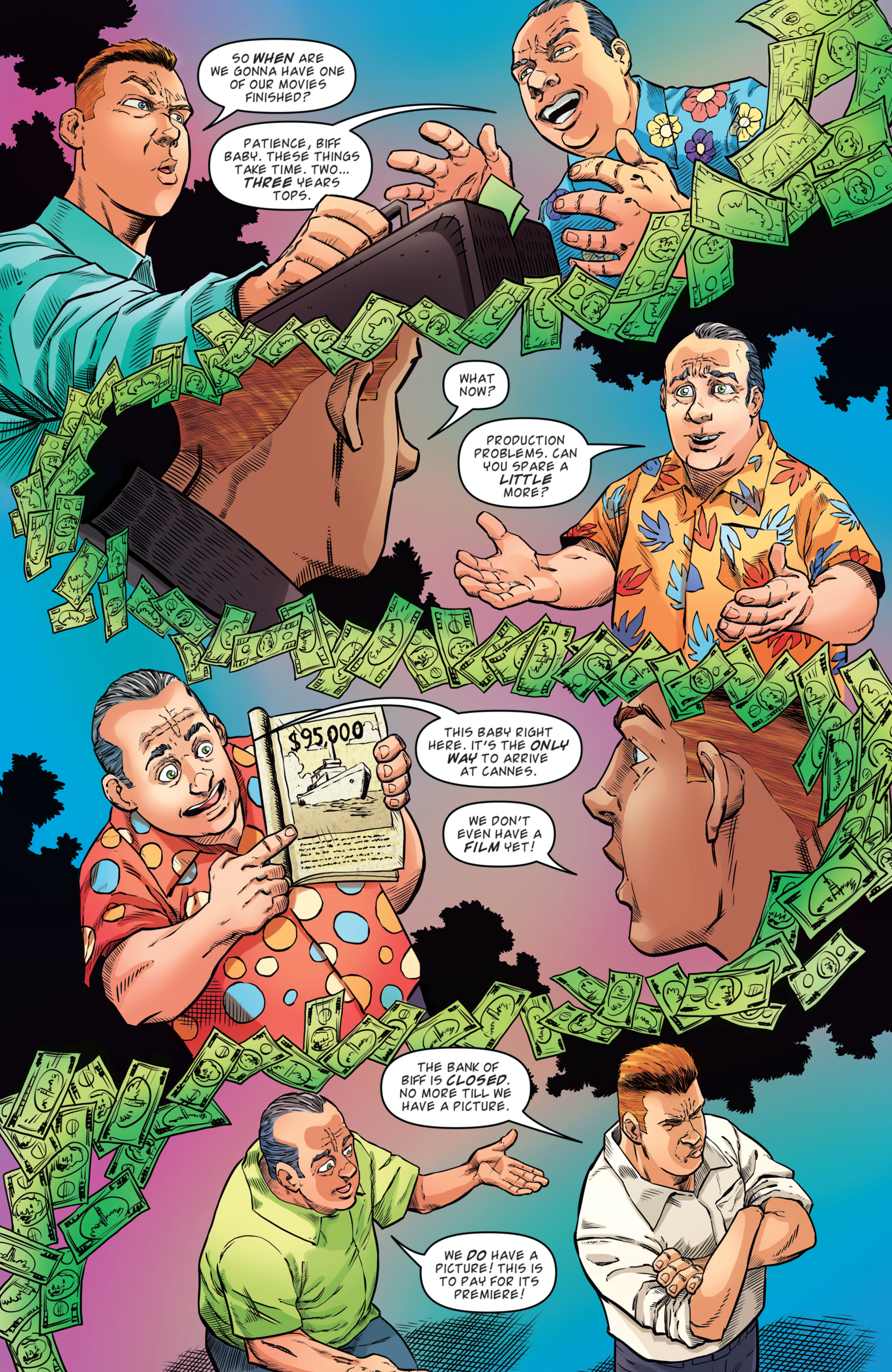 Read online Back to the Future: Biff to the Future comic -  Issue #2 - 11