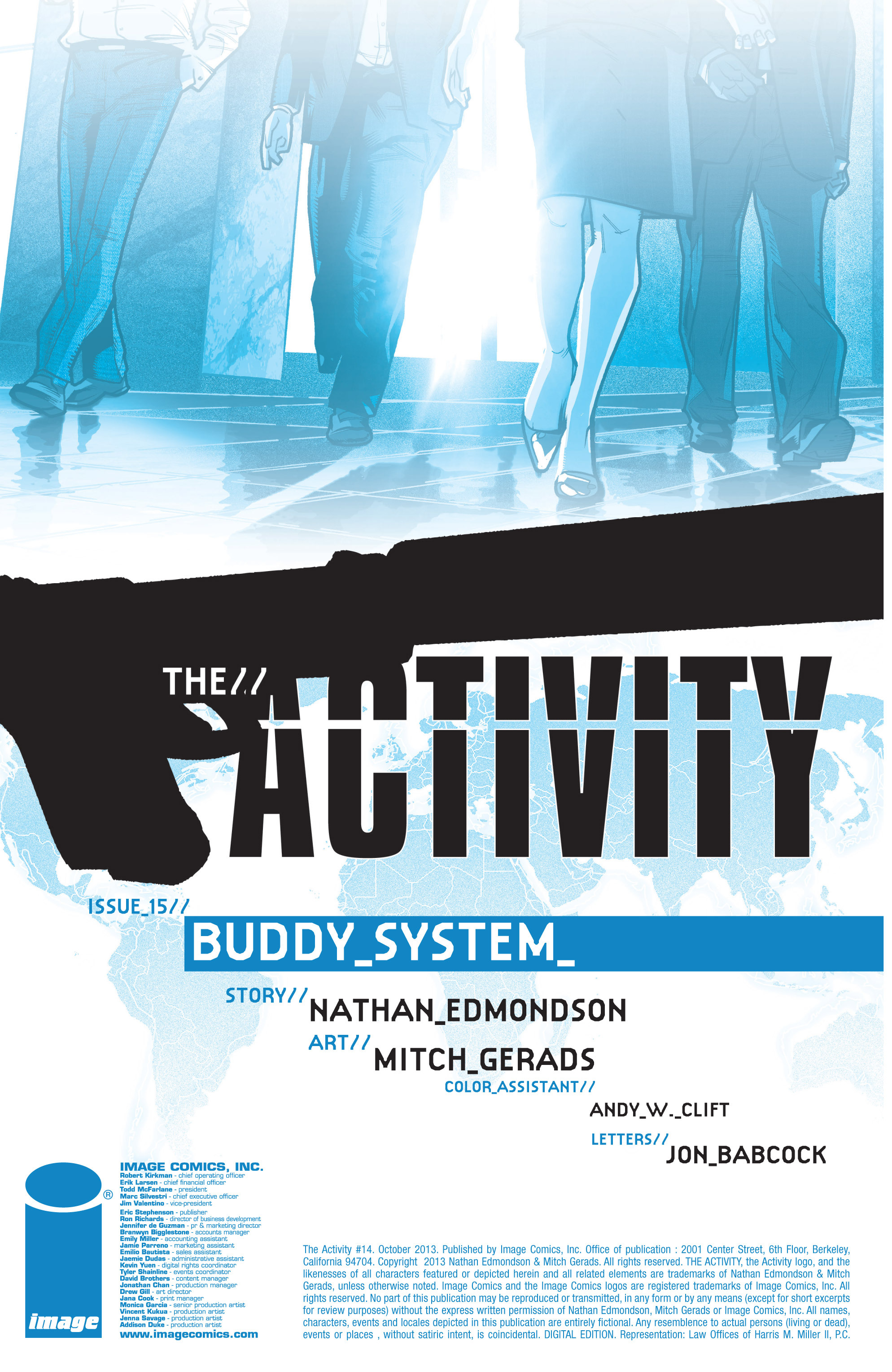 Read online The Activity comic -  Issue #15 - 2