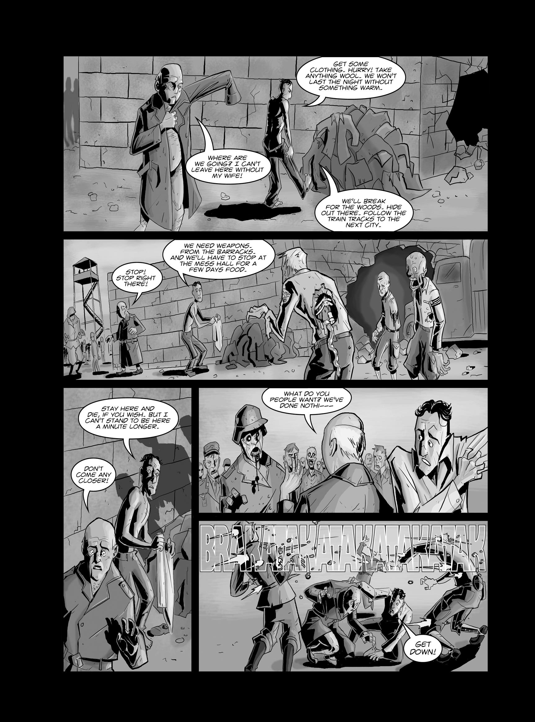 Read online FUBAR comic -  Issue #1 - 16