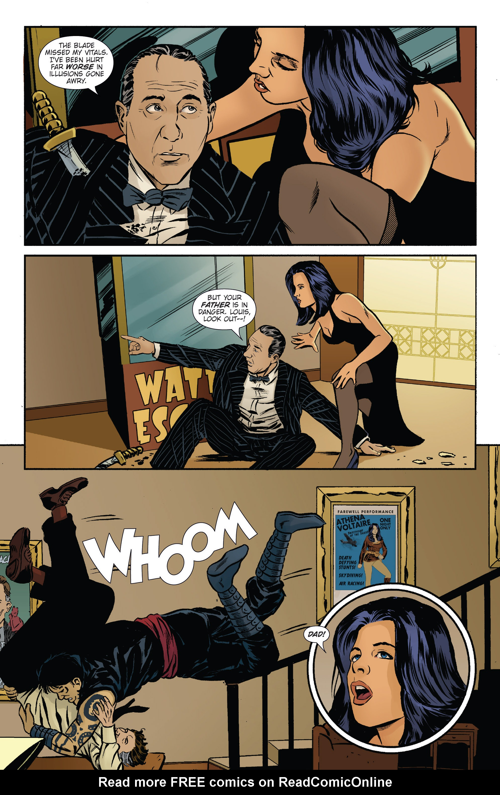 Read online Athena Voltaire and the Volcano Goddess comic -  Issue #2 - 8