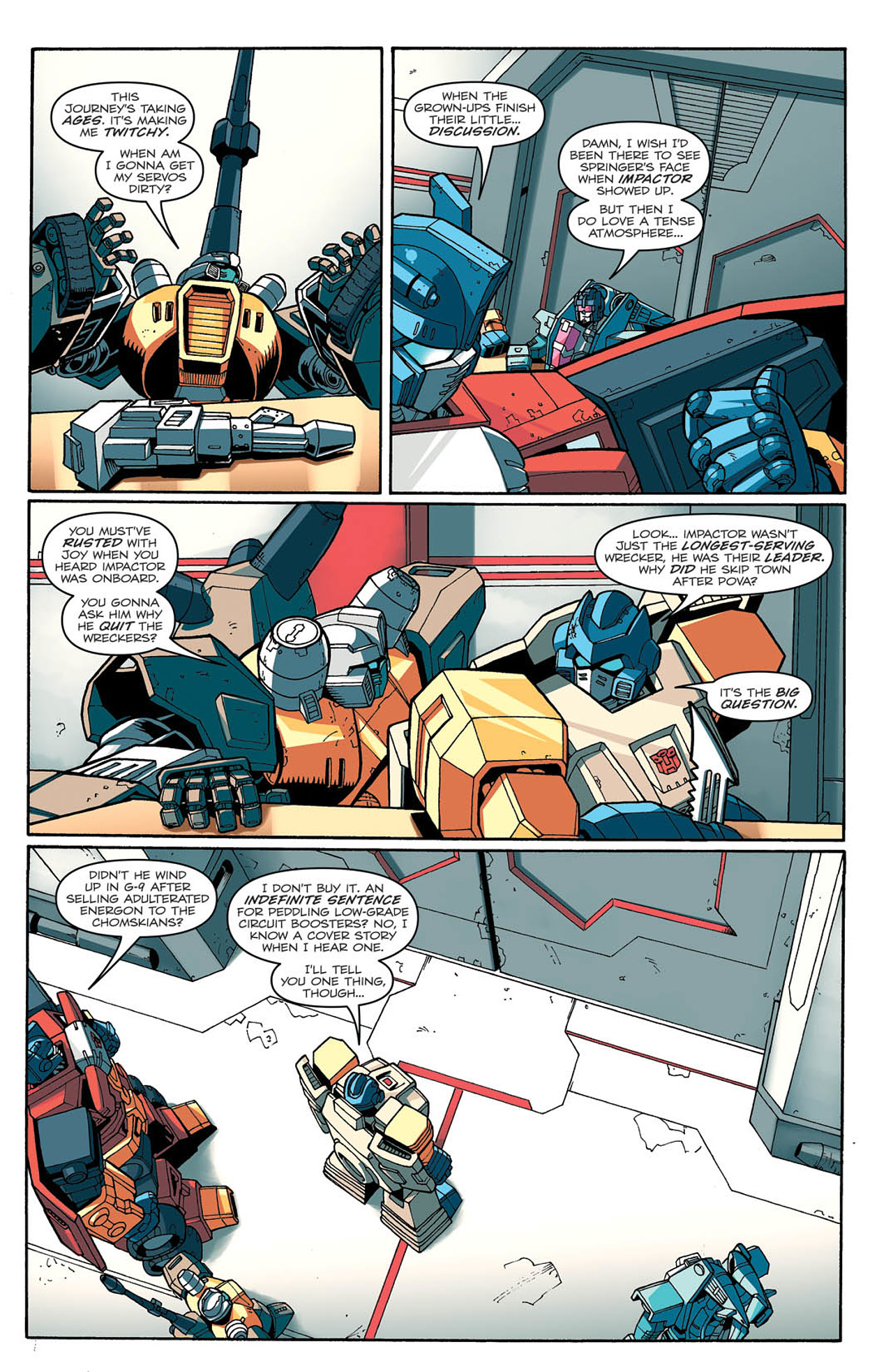 Read online Transformers: Last Stand of The Wreckers comic -  Issue #2 - 8