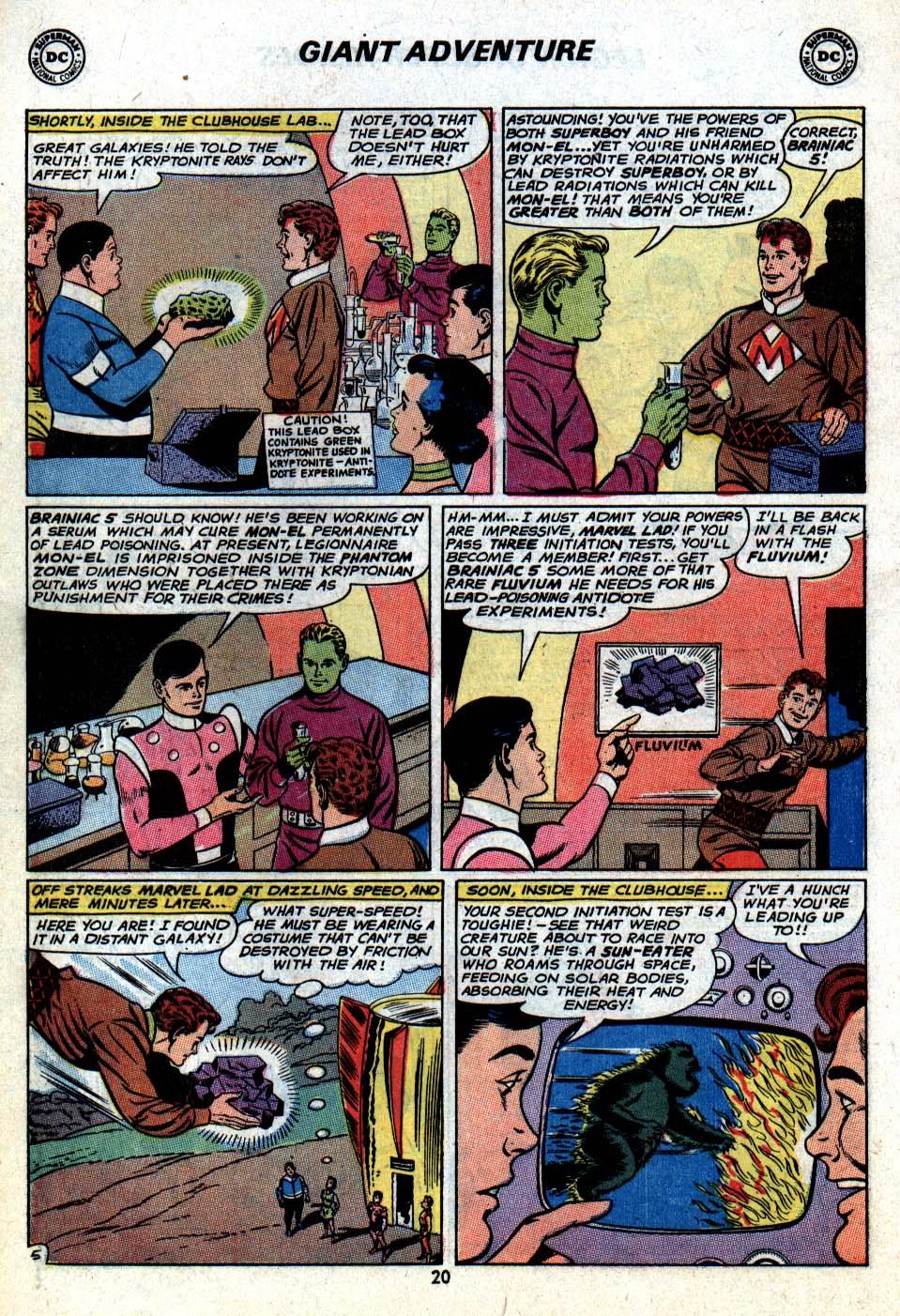 Read online Adventure Comics (1938) comic -  Issue #403 - 22