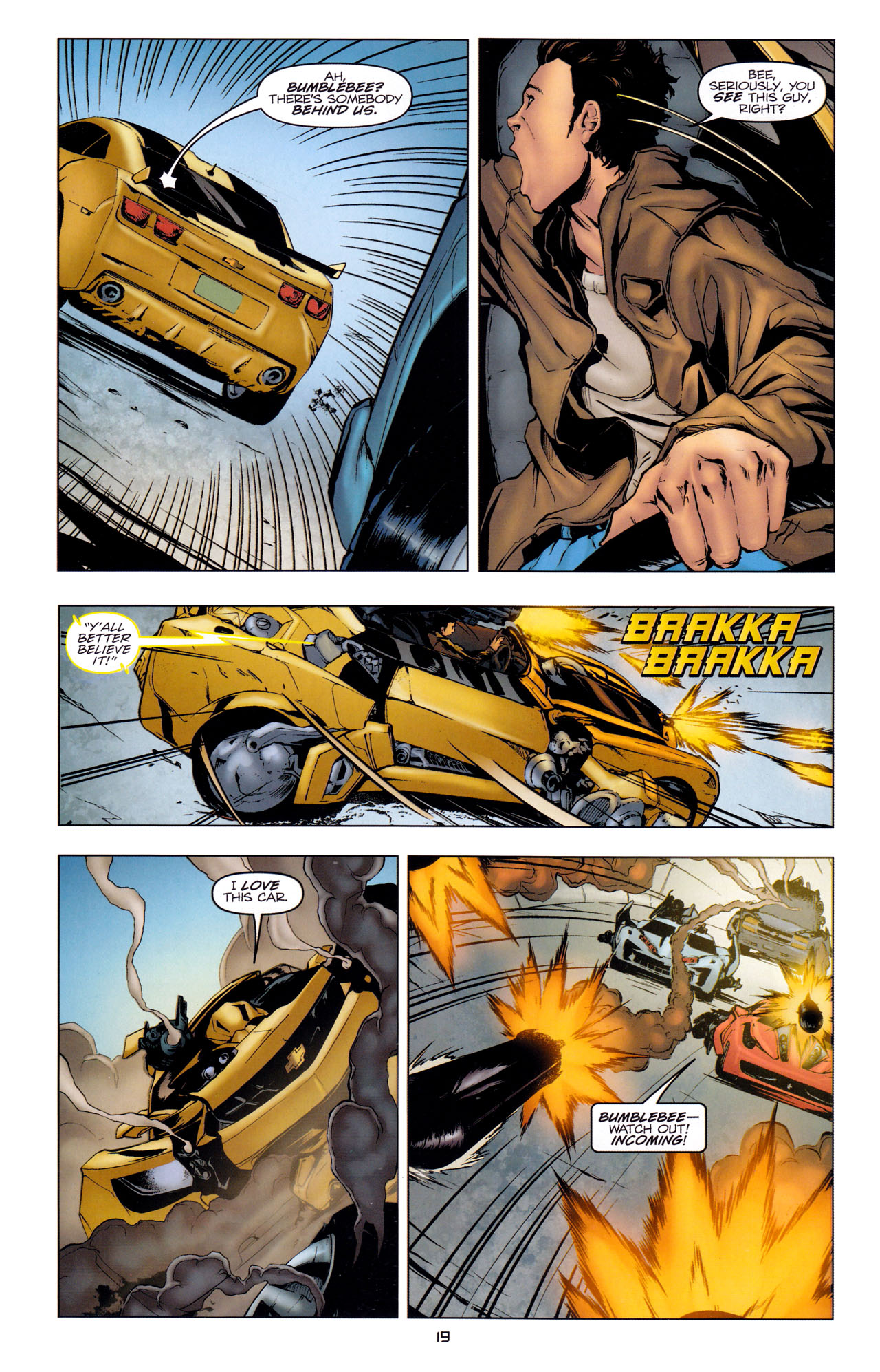 Read online Transformers: Dark of the Moon Movie Adaptation comic -  Issue #2 - 21