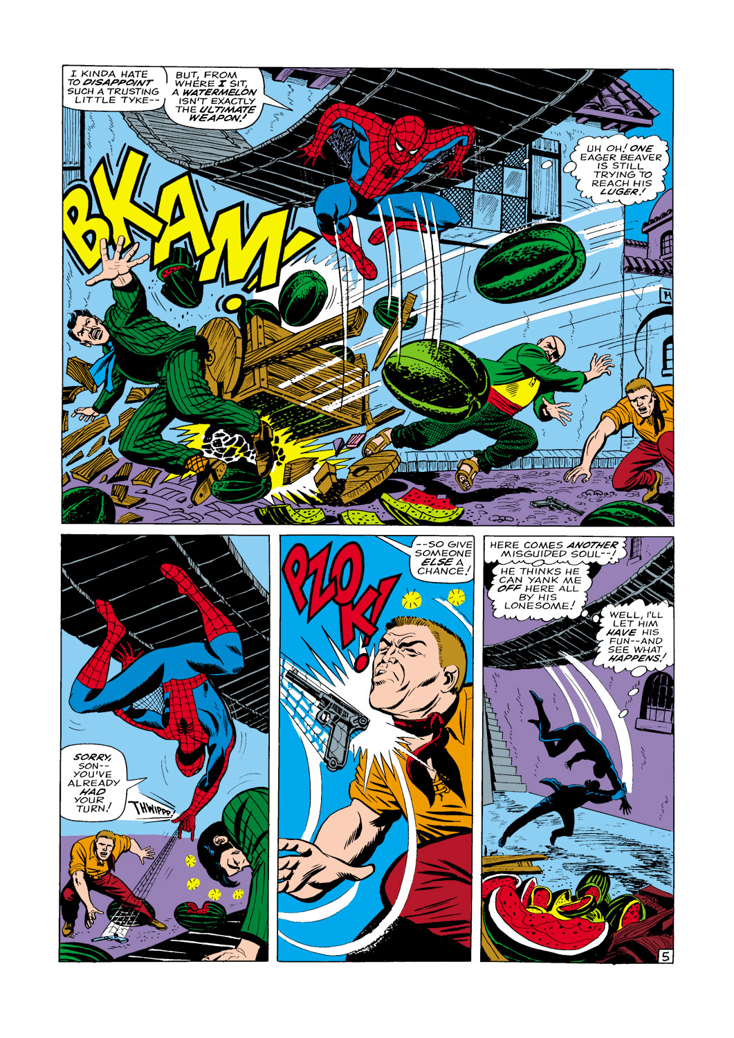 The Amazing Spider-Man (1963) _Annual_5 Page 5