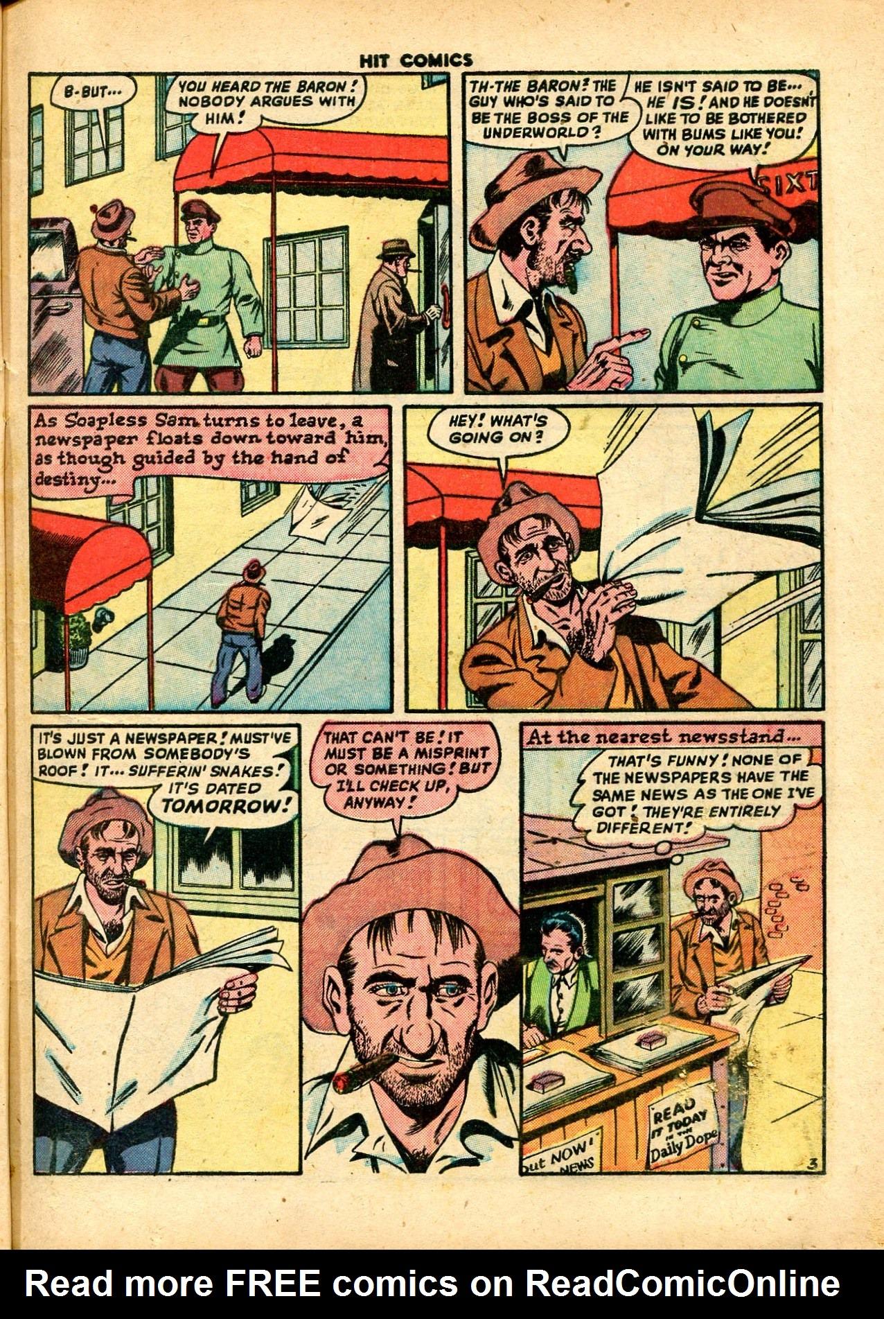 Read online Hit Comics comic -  Issue #59 - 5