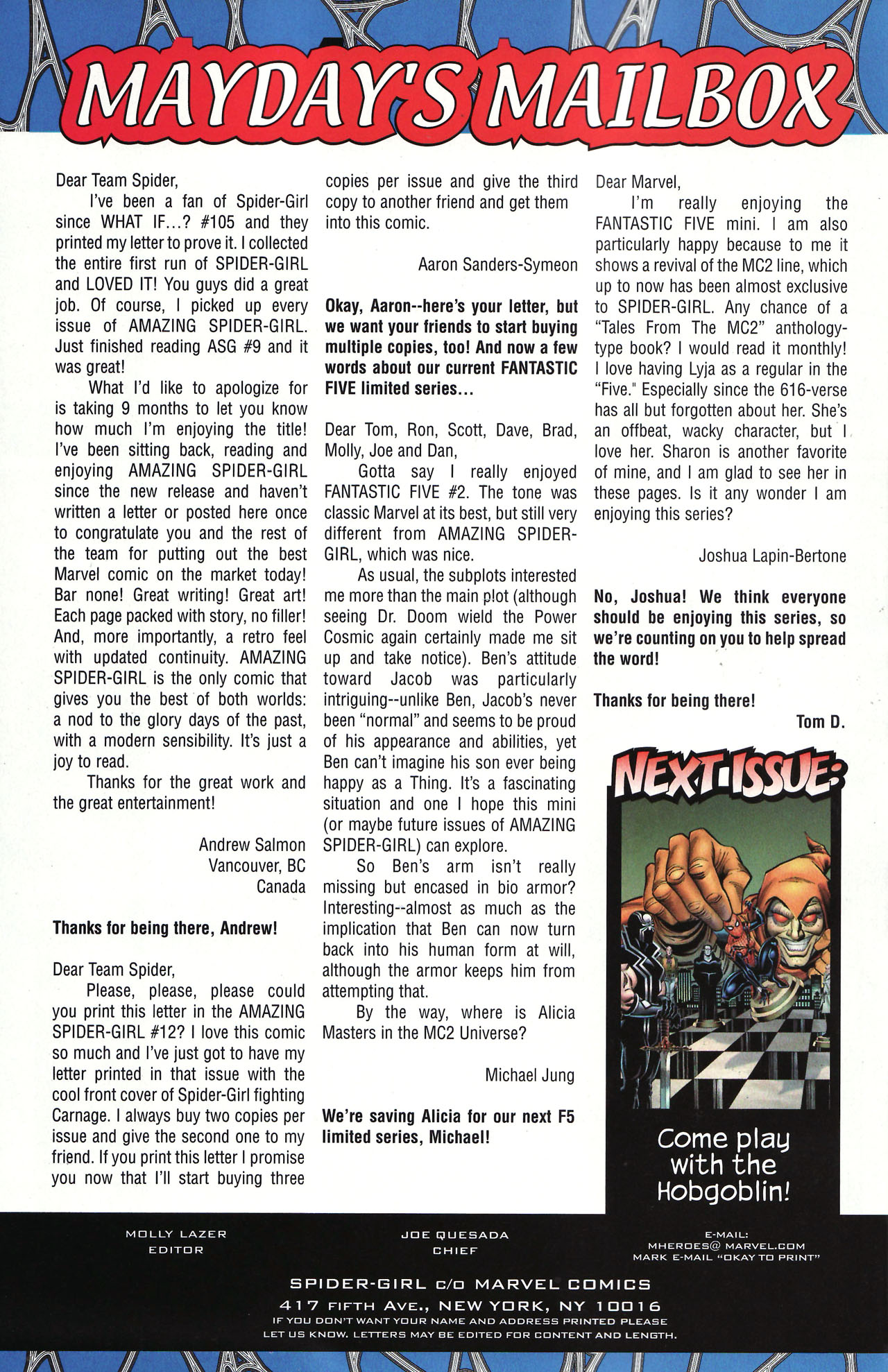 Read online Amazing Spider-Girl comic -  Issue #12 - 24