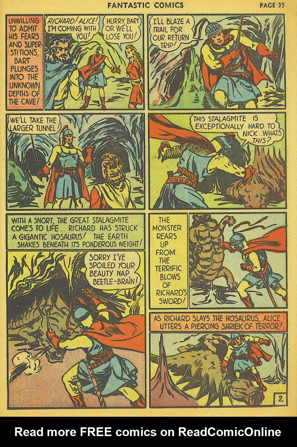 Read online Fantastic Comics comic -  Issue #15 - 28