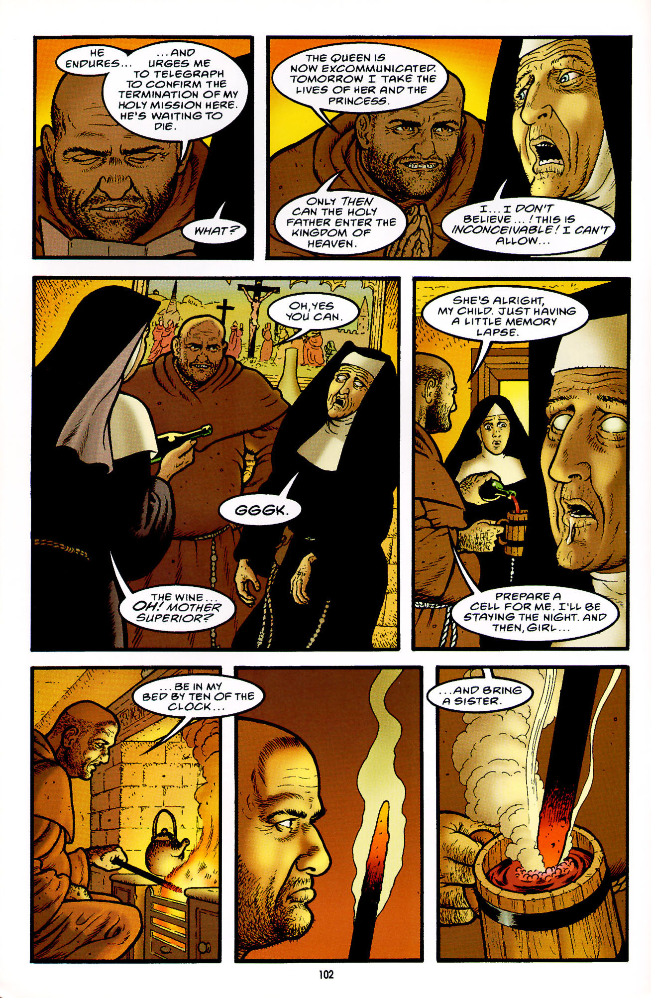 Read online Heart of Empire comic -  Issue #4 - 6