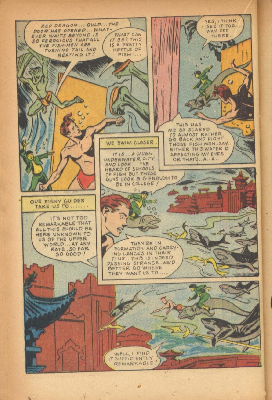 Read online Super-Magician Comics comic -  Issue #47 - 30