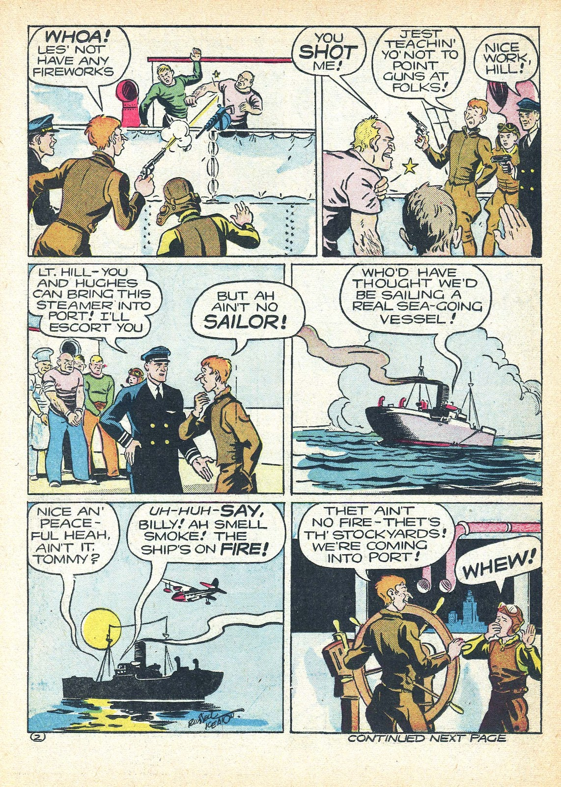 Read online Famous Funnies comic -  Issue #95 - 47