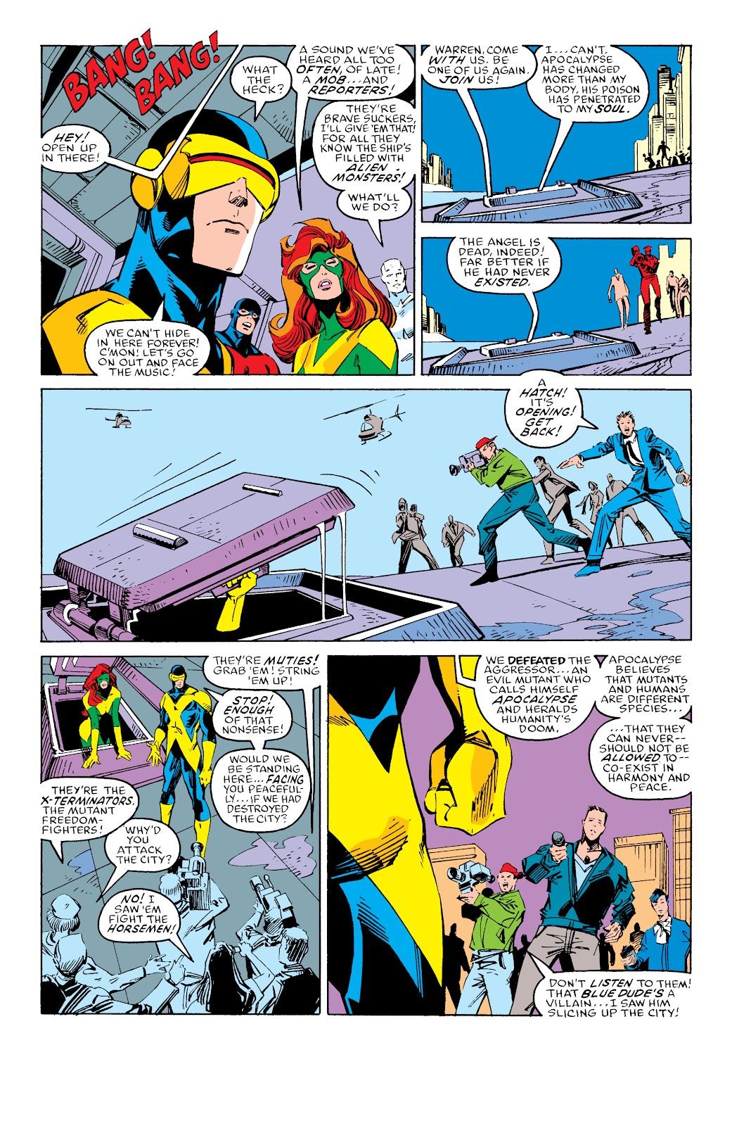 Read online X-Men Milestones: Fall of the Mutants comic -  Issue # TPB (Part 3) - 42