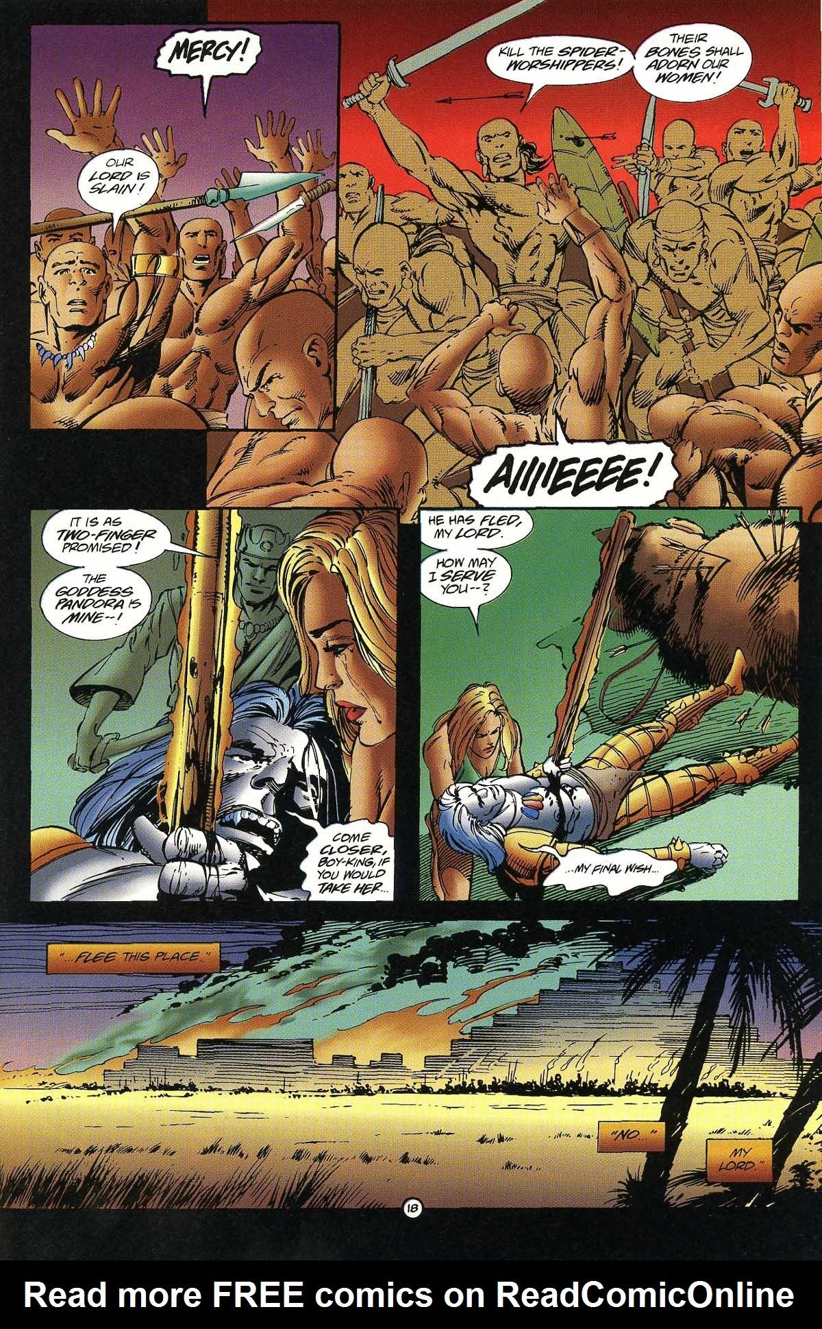 Read online Rune (1994) comic -  Issue #7 - 19