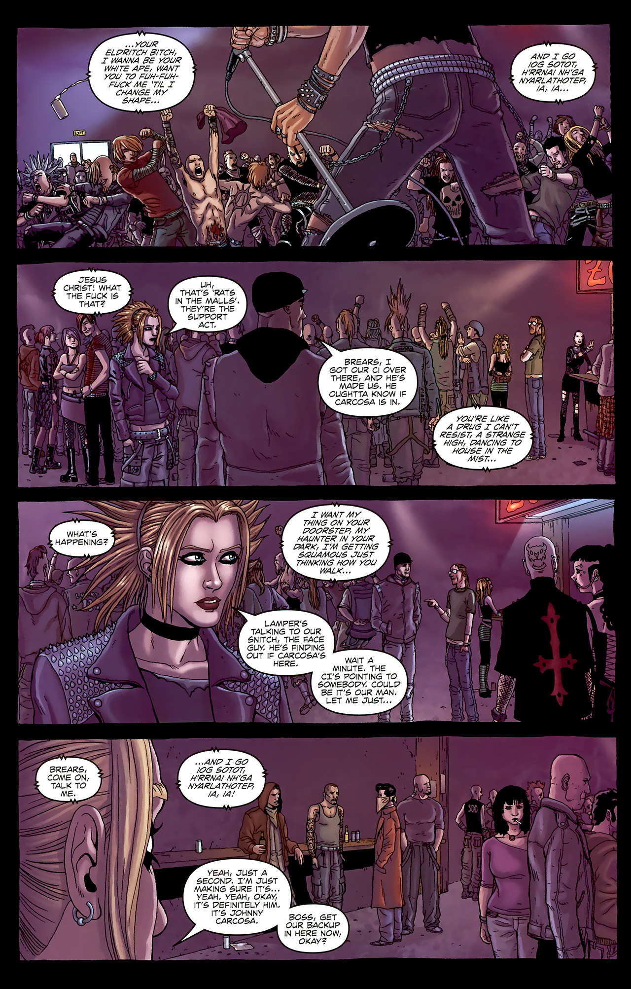 Read online Alan Moore's Neonomicon comic -  Issue #1 - 25