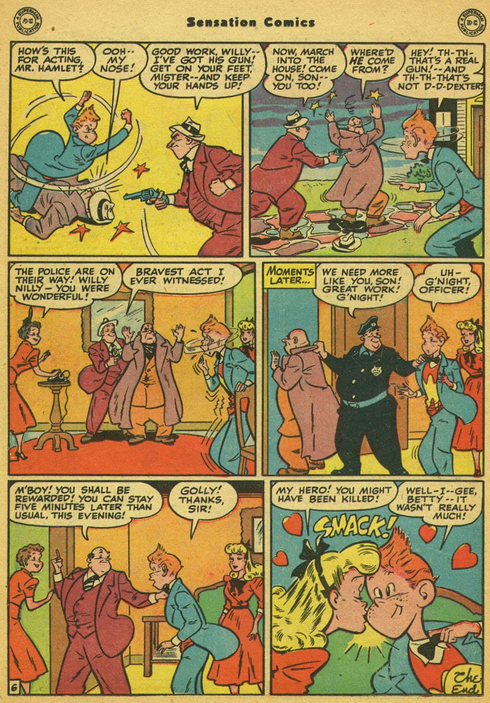 Read online Sensation (Mystery) Comics comic -  Issue #80 - 37
