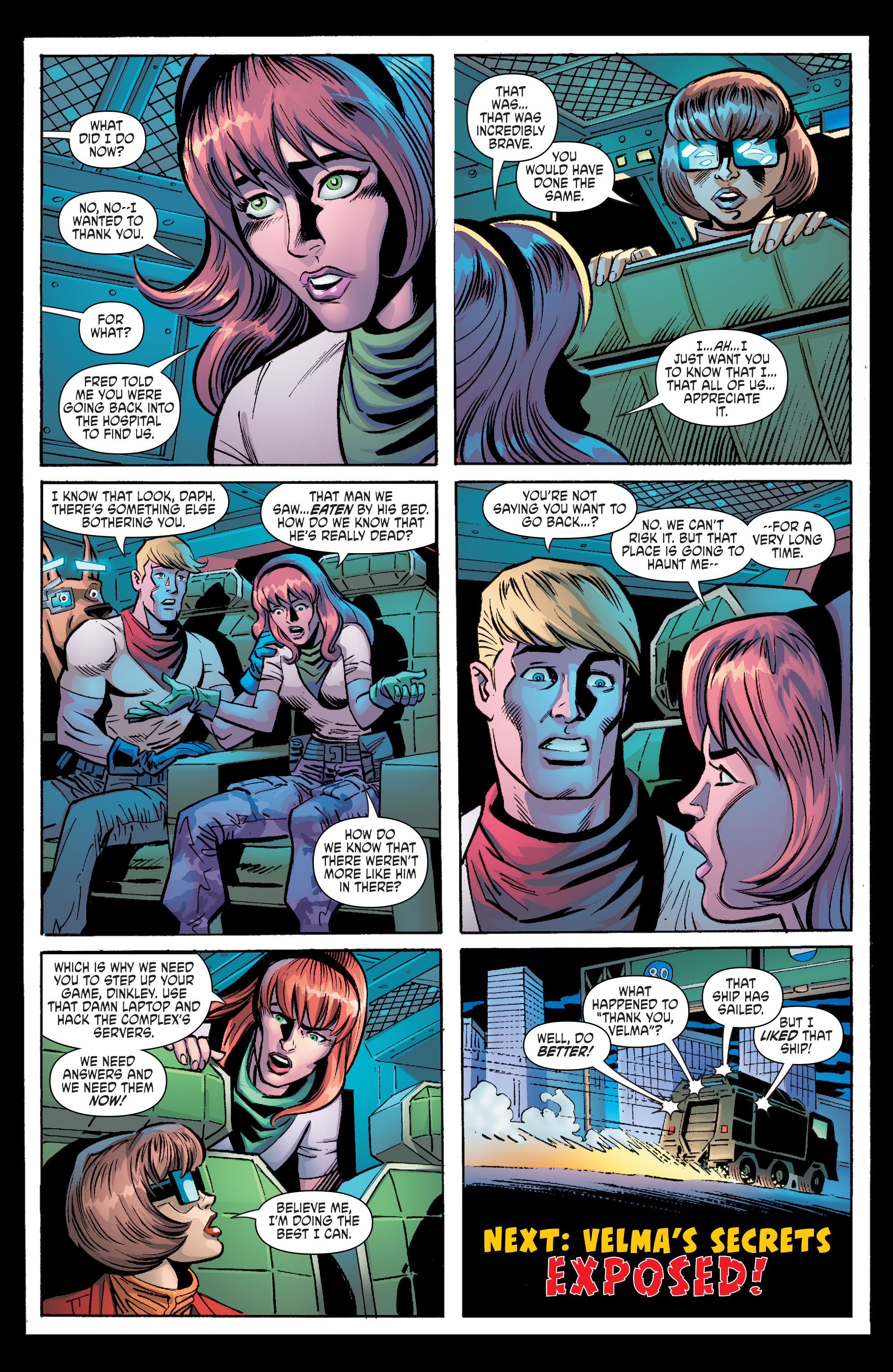 Read online Scooby Apocalypse comic -  Issue #8 - 25