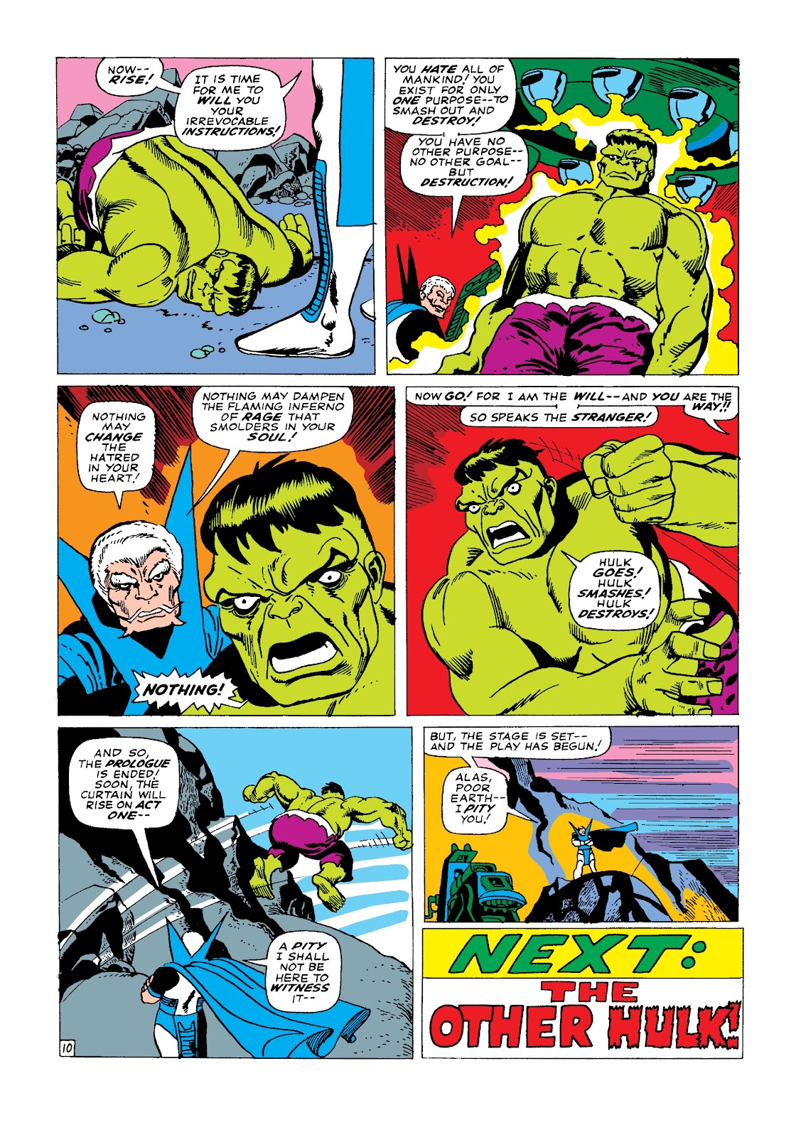 Read online Marvel Masterworks: The Incredible Hulk comic -  Issue # TPB 3 (Part 2) - 16