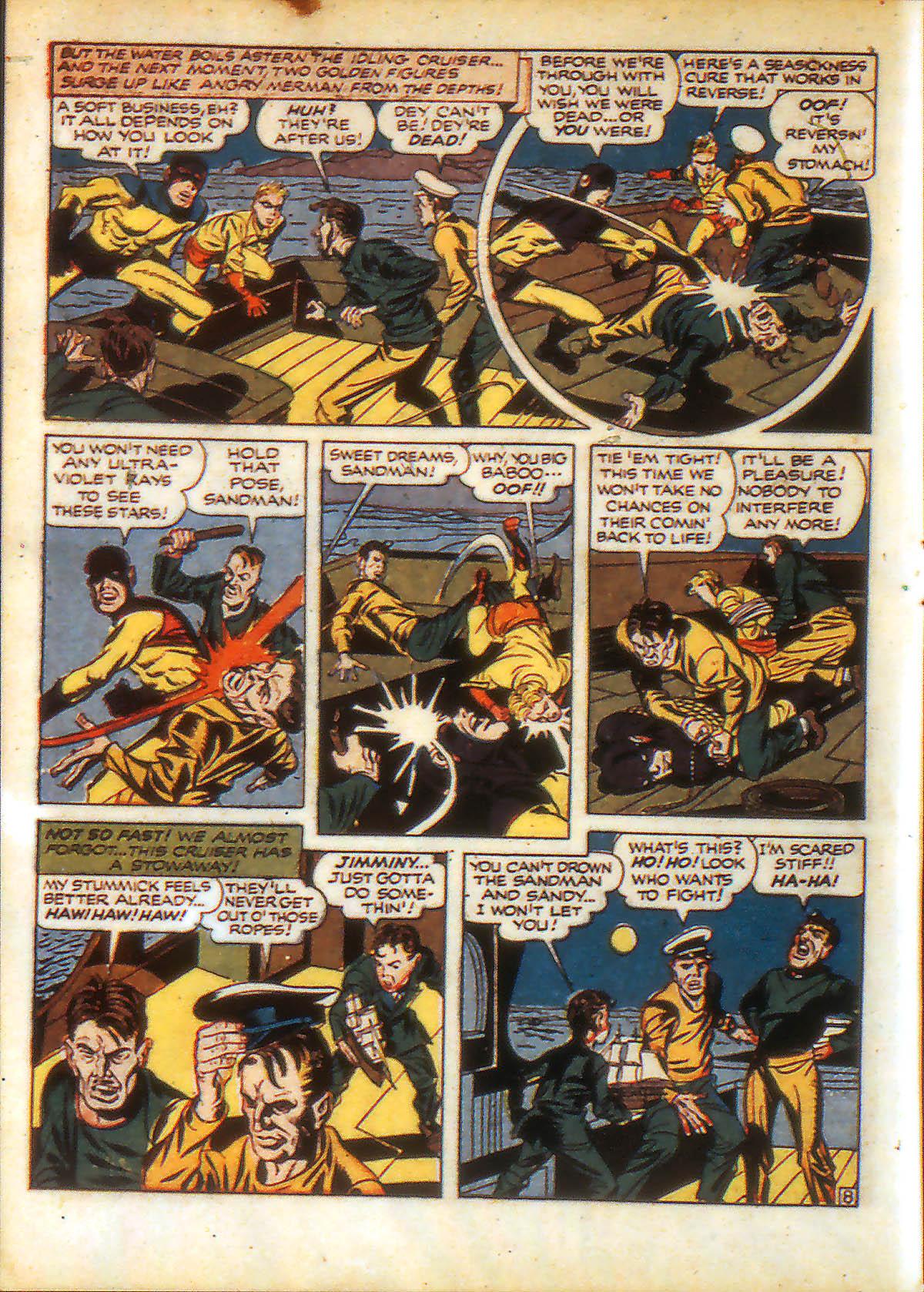 Read online Adventure Comics (1938) comic -  Issue #88 - 10