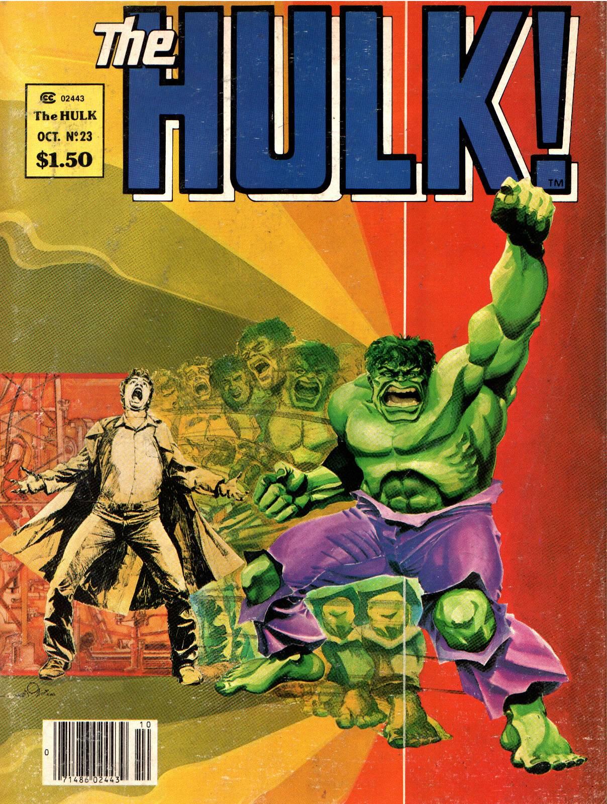 Hulk (1978) issue 23 - Page 1