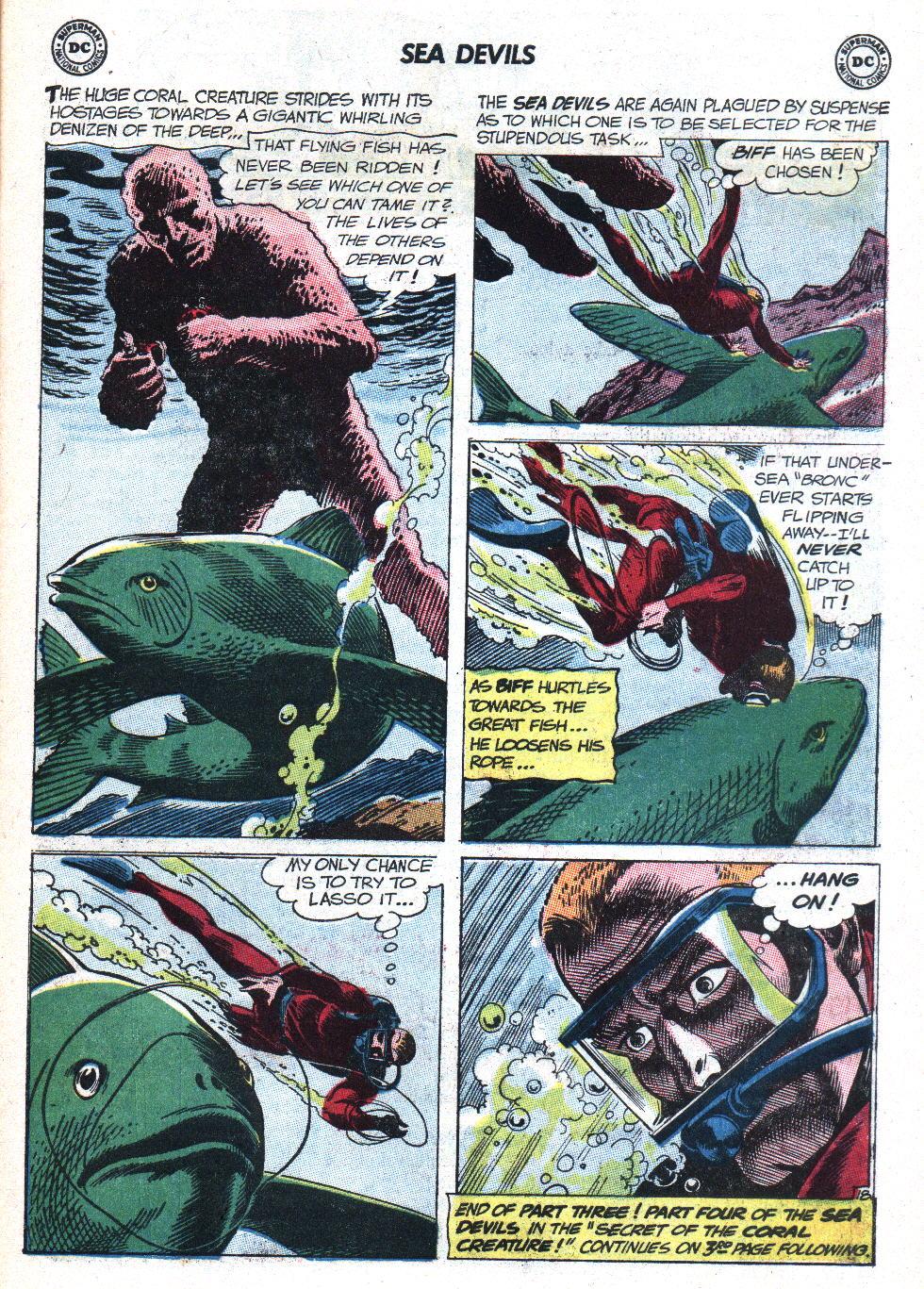 Read online Sea Devils comic -  Issue #9 - 24