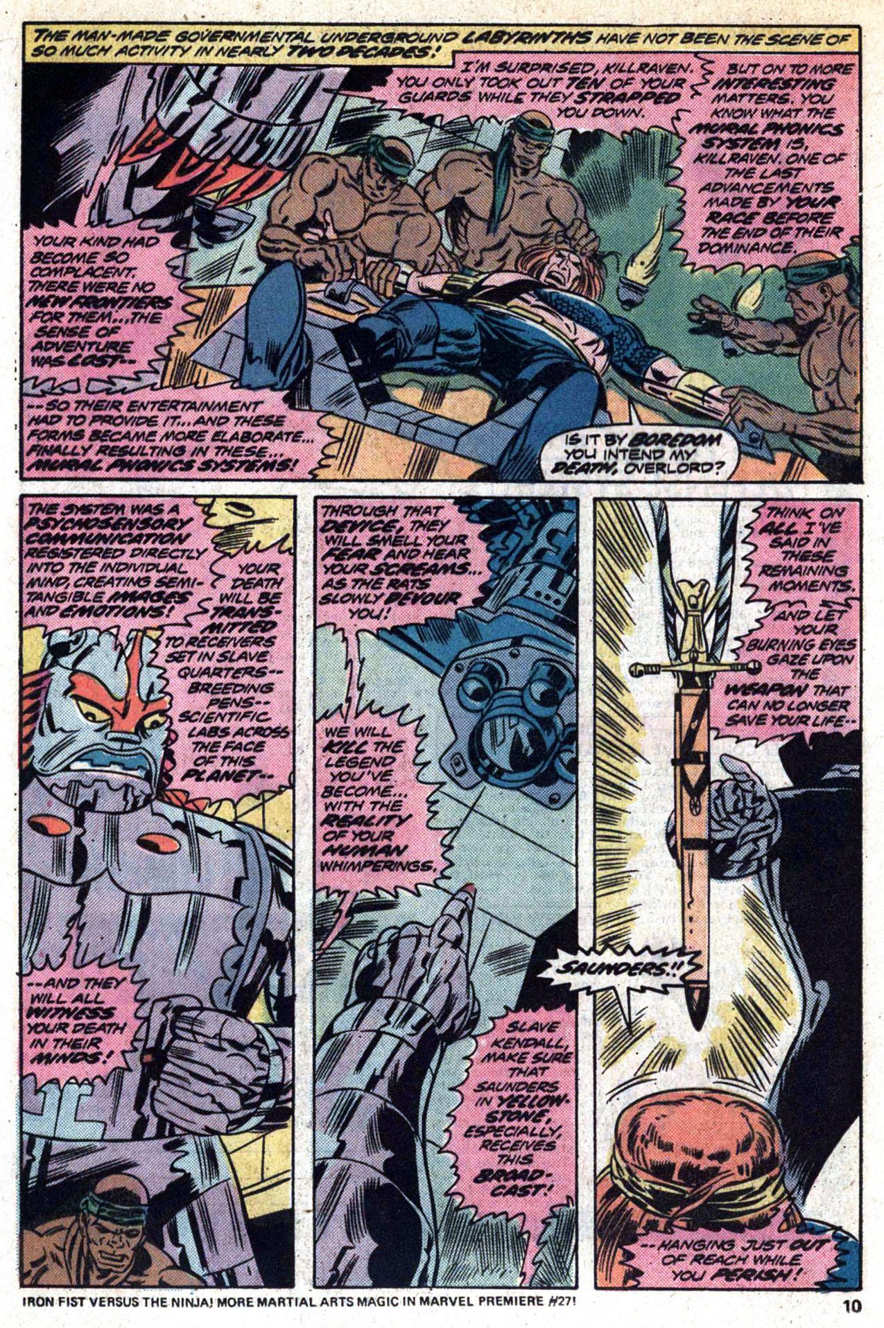 Read online Amazing Adventures (1970) comic -  Issue #30 - 12
