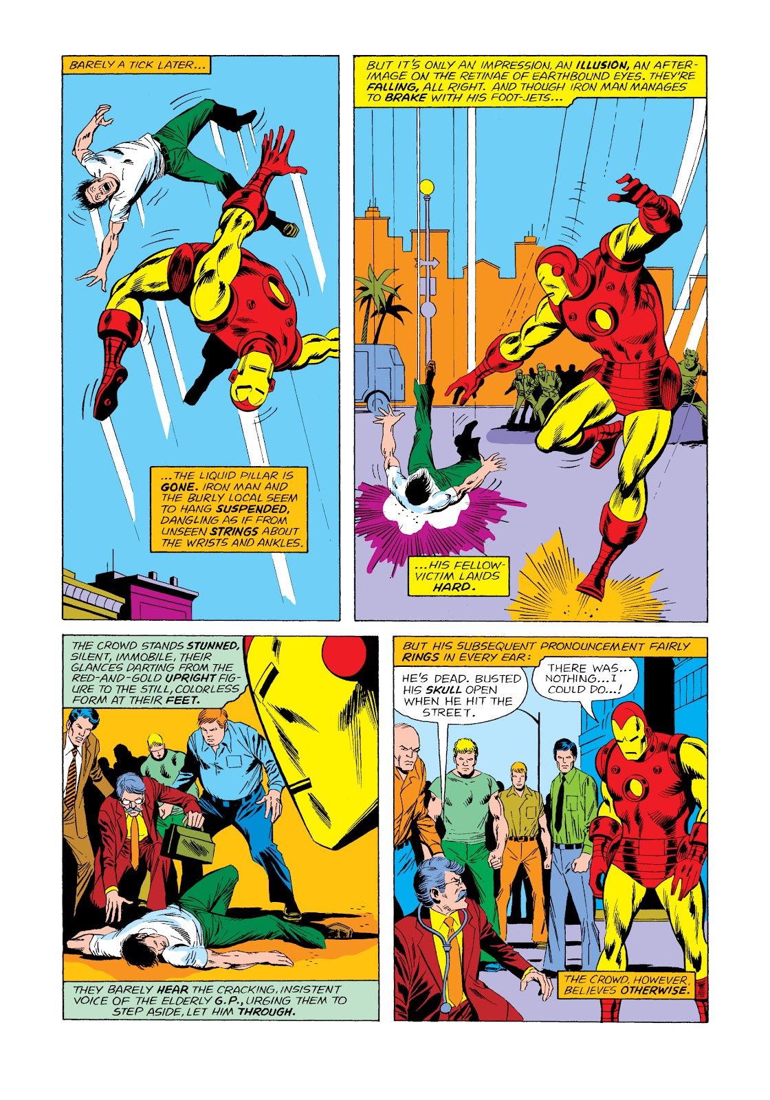 Read online Marvel Masterworks: The Invincible Iron Man comic -  Issue # TPB 11 (Part 2) - 33