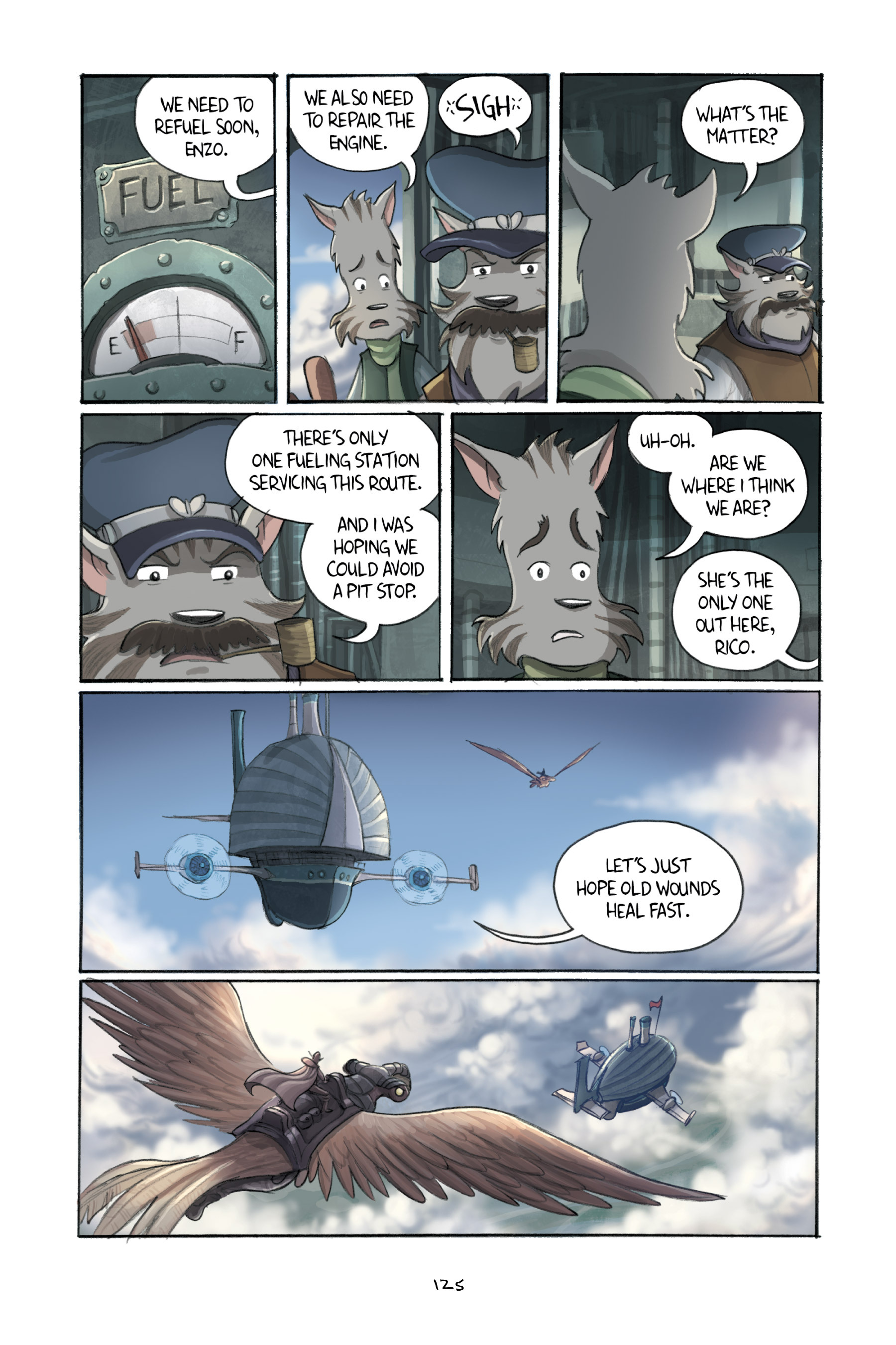 Read online Amulet comic -  Issue #3 - 123