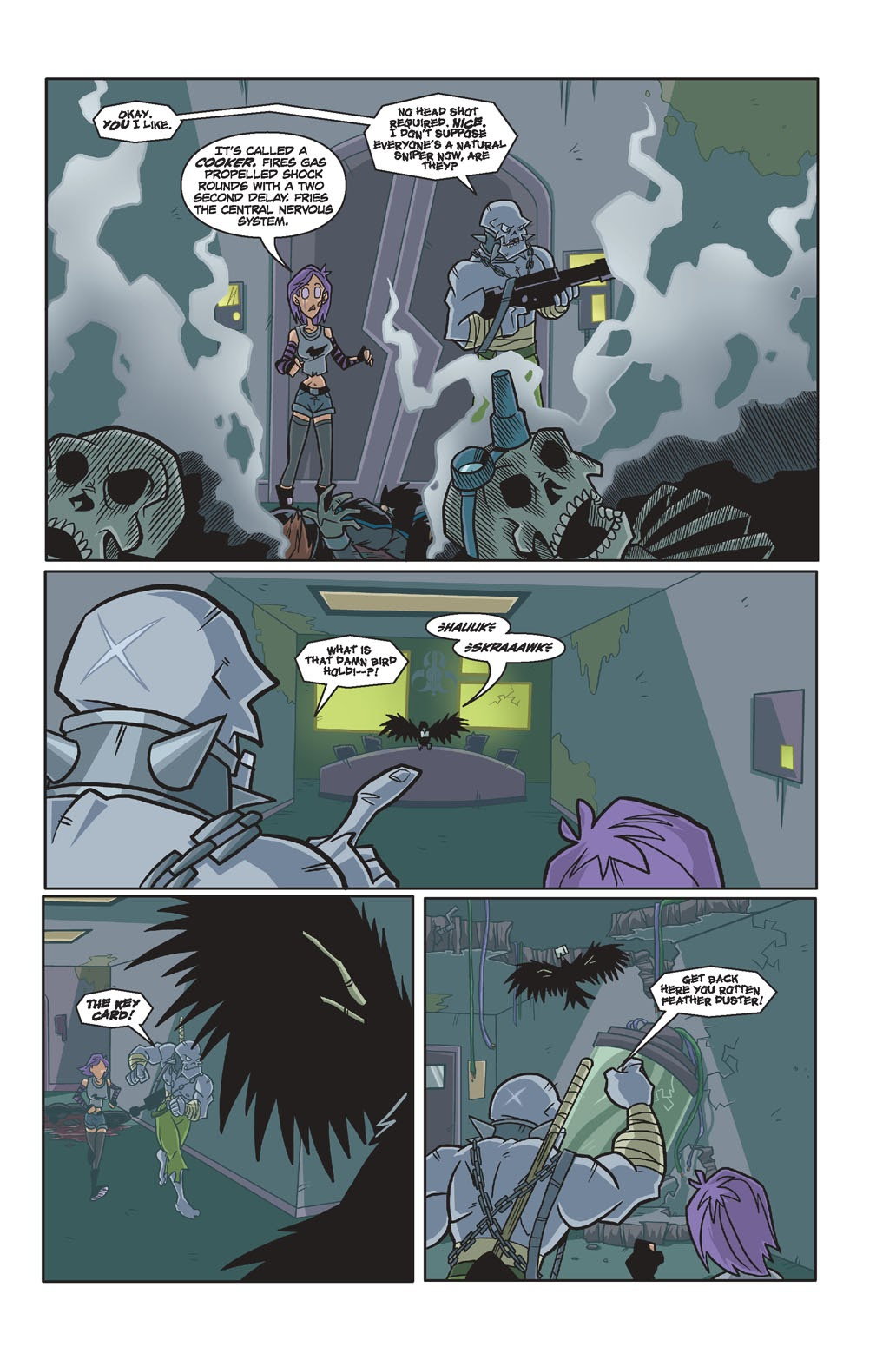 Read online Xombie Reanimated comic -  Issue #4 - 14